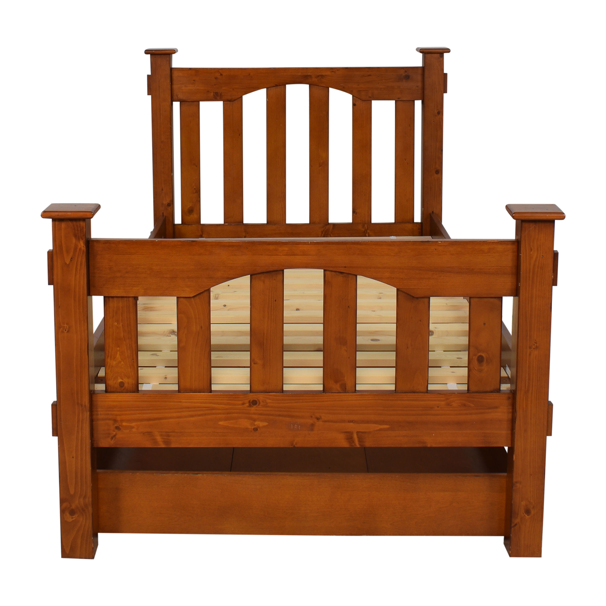 buy Pottery Barn Kids Kendall Twin Bed and Trundle Pottery Barn Kids