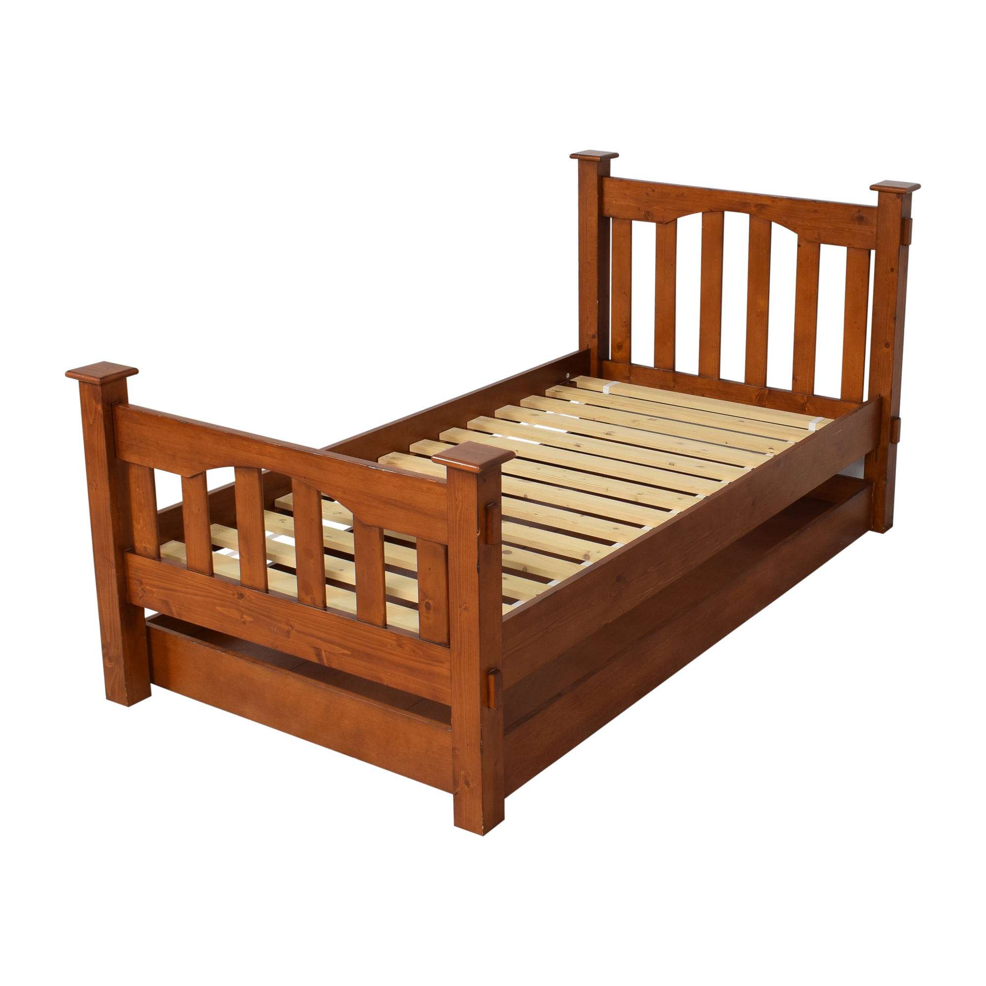 buy Pottery Barn Kids Pottery Barn Kids Kendall Twin Bed and Trundle online