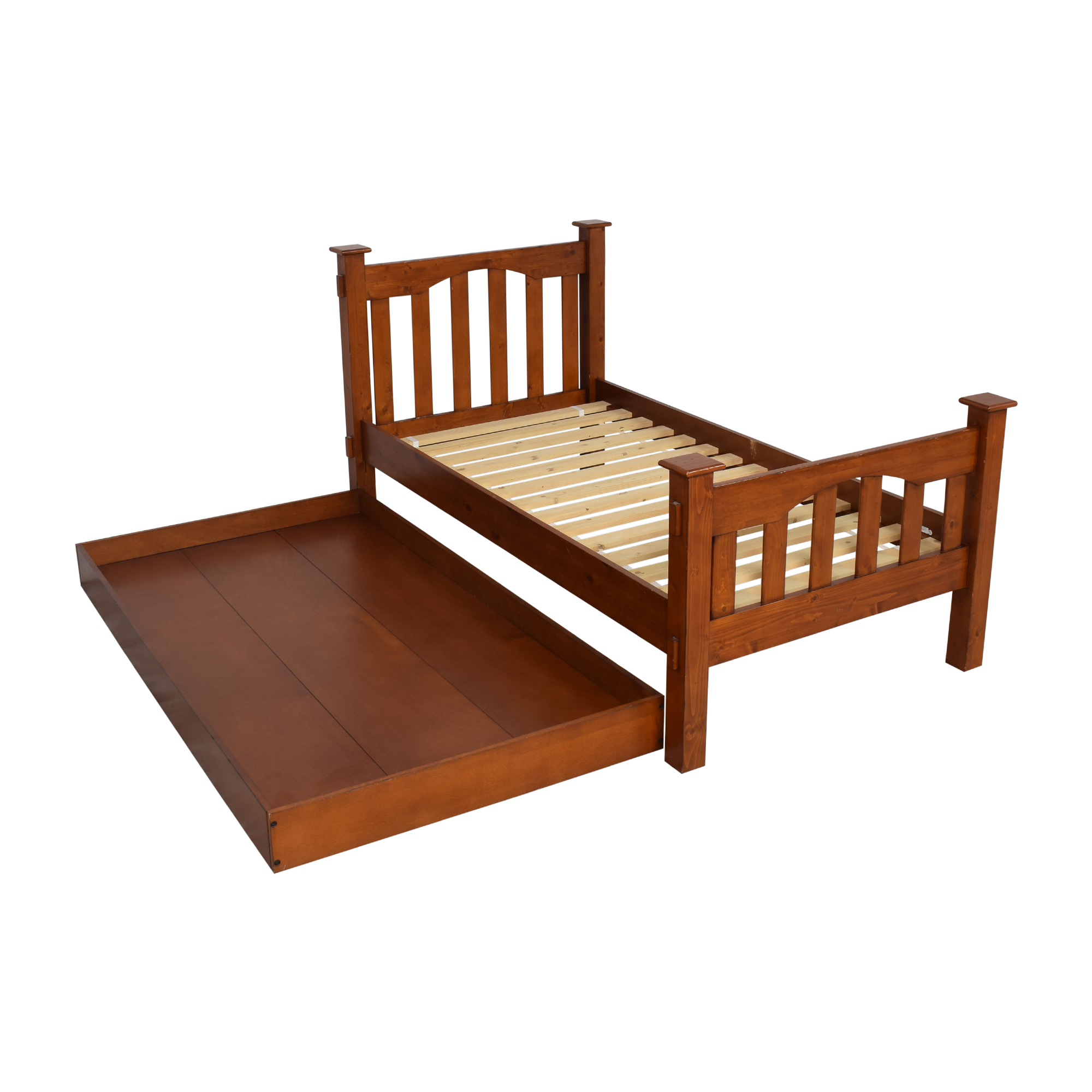 Pottery Barn Kids Pottery Barn Kids Kendall Twin Bed and Trundle ct