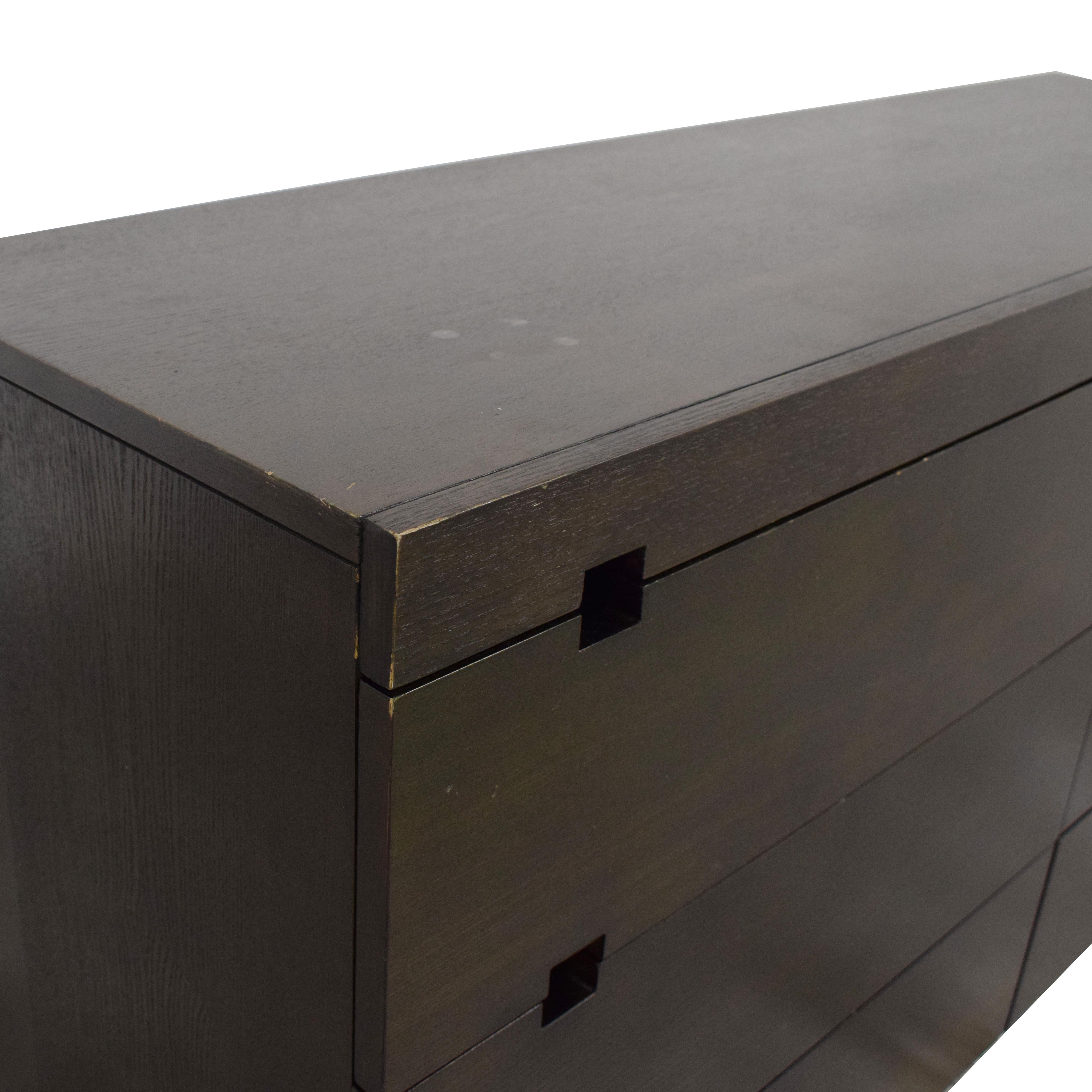 West Elm West Elm Square Cutout Dresser used