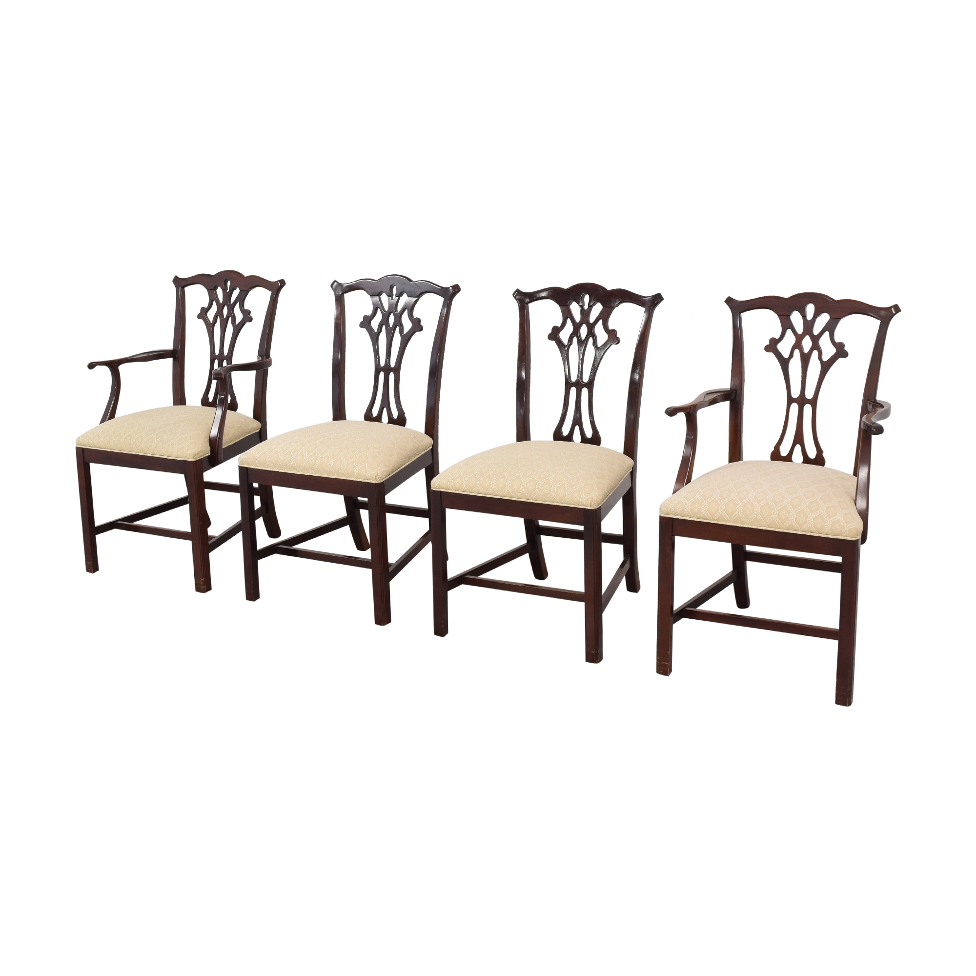 Hickory White Hickory White Chippendale Dining Chairs dimensions