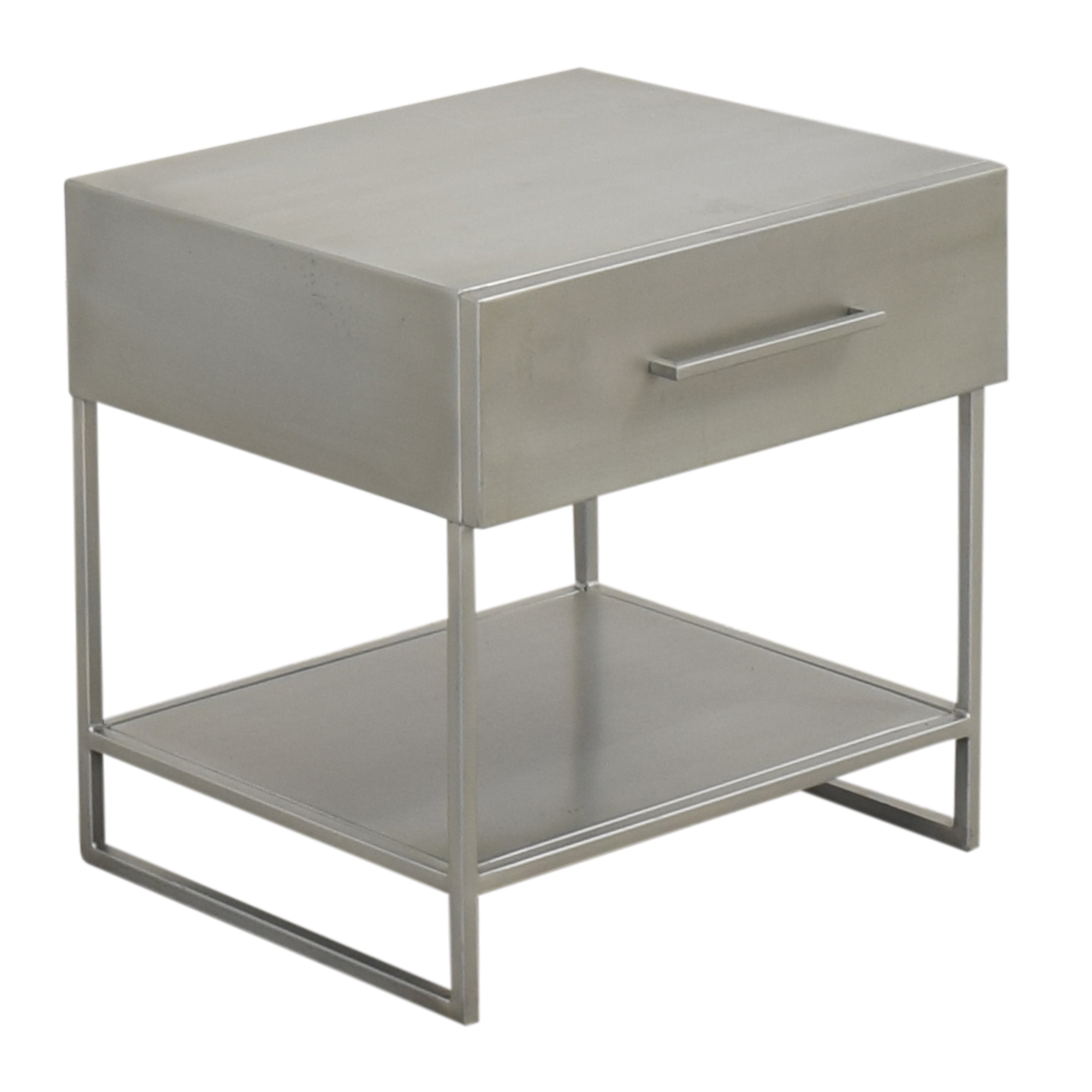 shop CB2 Proof Modern Nightstand CB2 End Tables