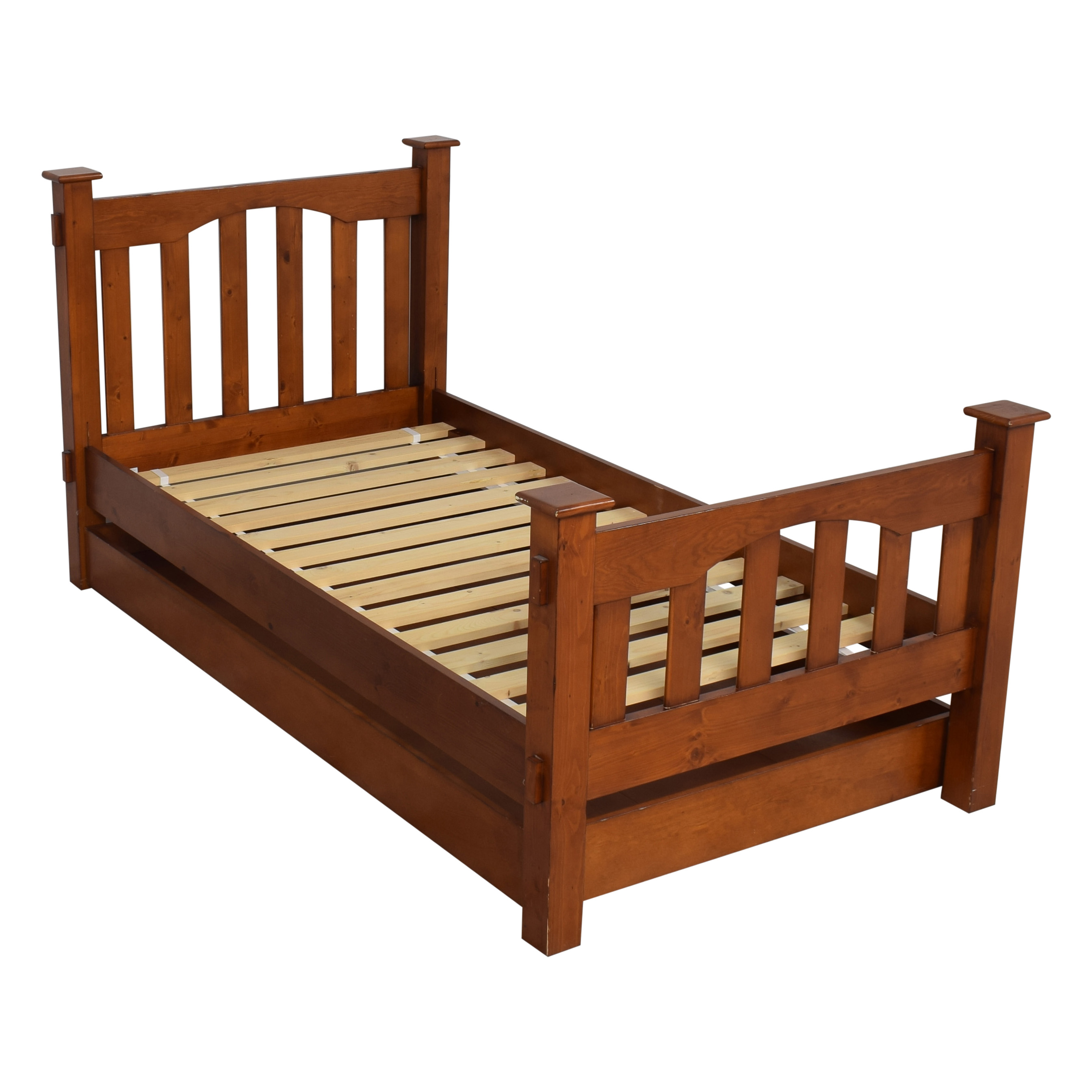 68 Off Pottery Barn Kids Pottery Barn Kids Kendall Twin Trundle Bed Beds