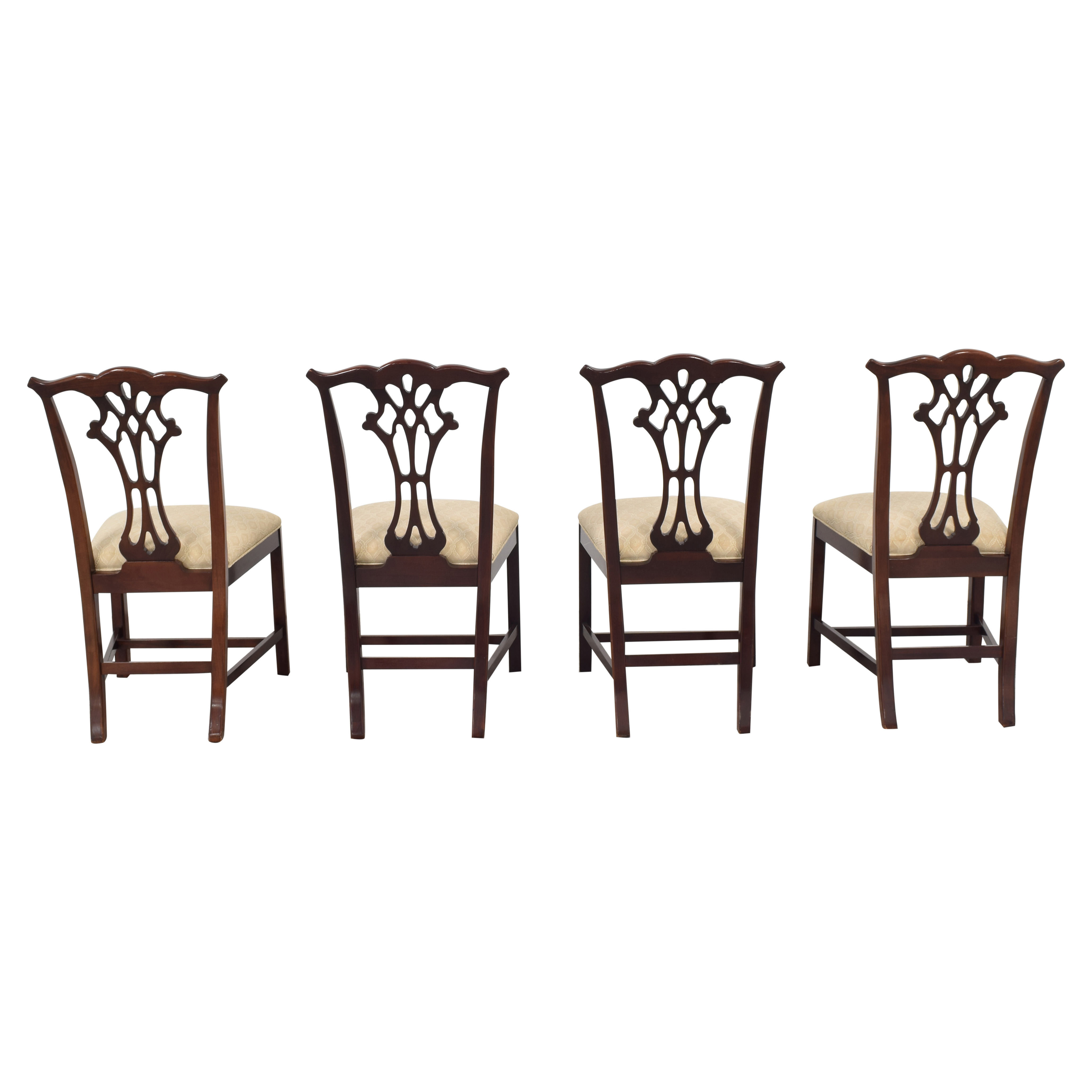 buy Hickory White Chippendale Dining Chairs Hickory White Dining Chairs