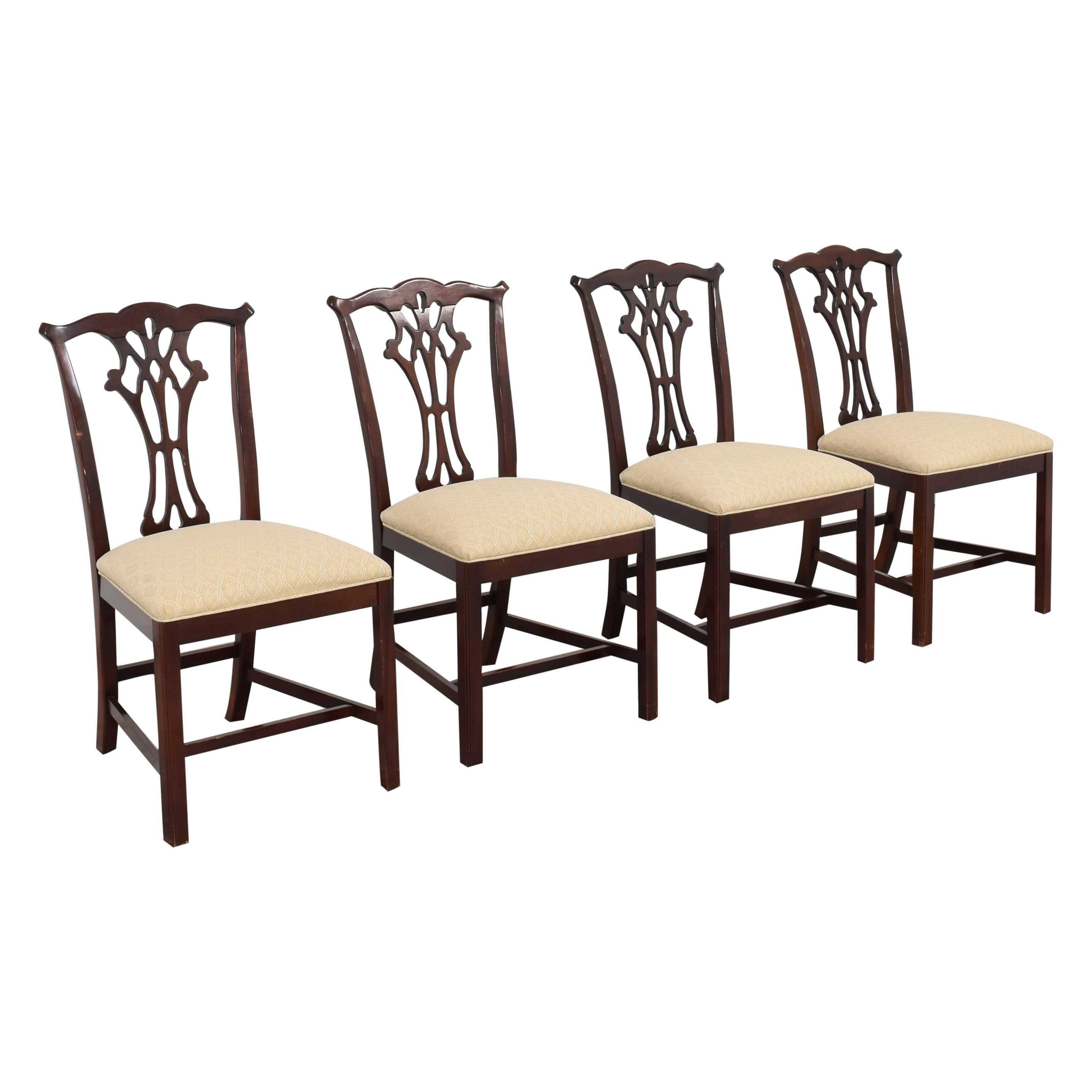 buy Hickory White Chippendale Dining Chairs Hickory White Chairs