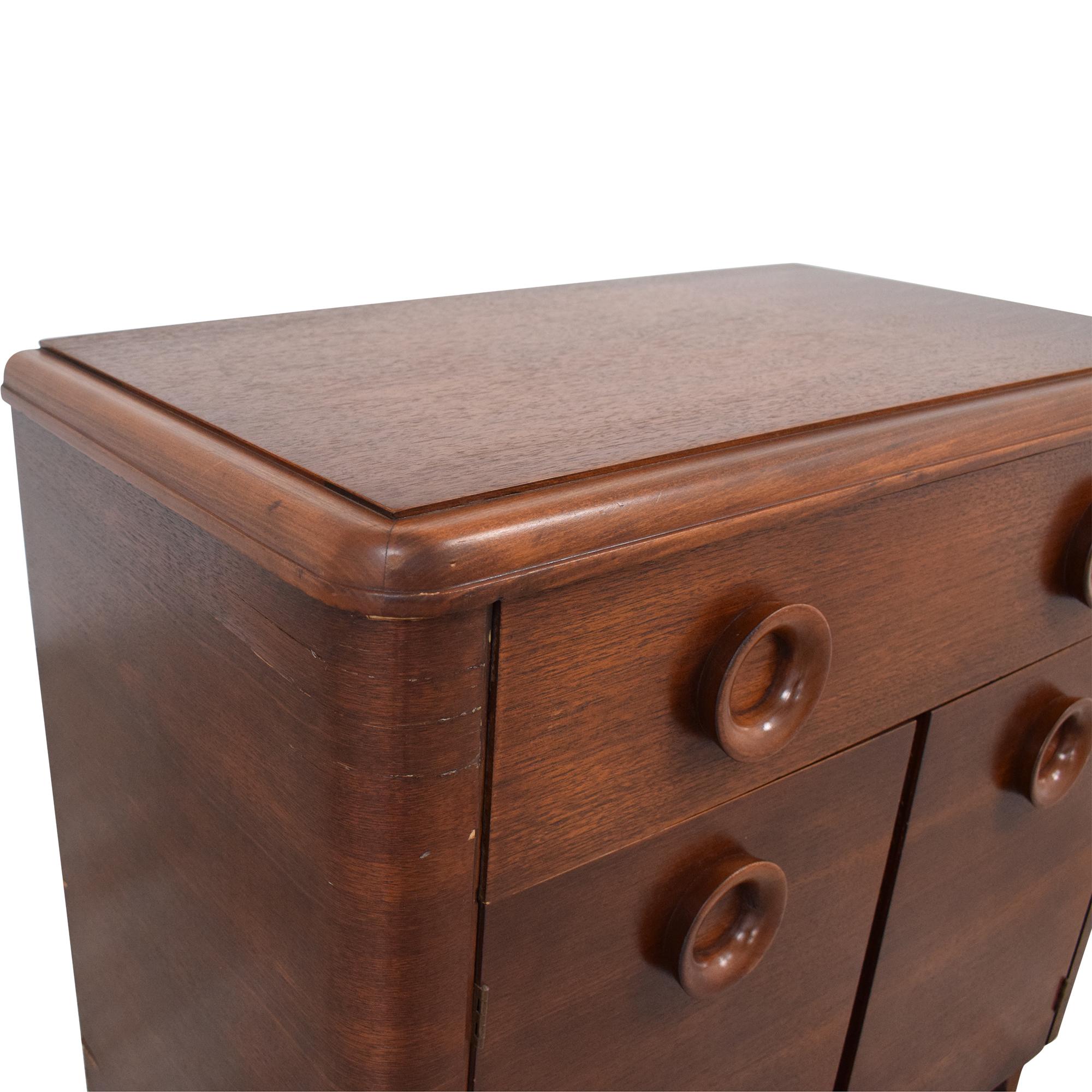 buy  Vintage Mid Century Cabinet Nightstand online