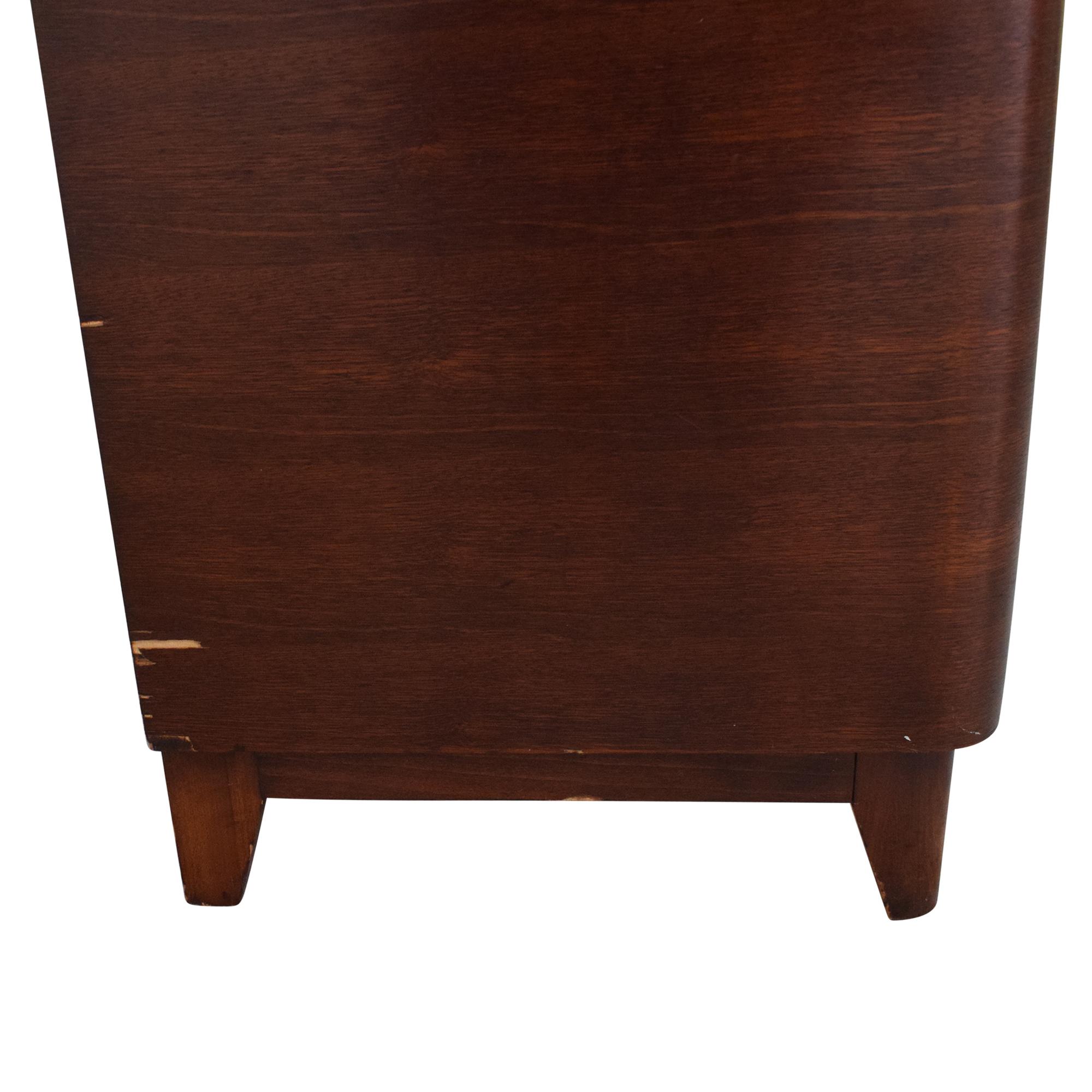 Vintage Mid Century Cabinet Nightstand Tables
