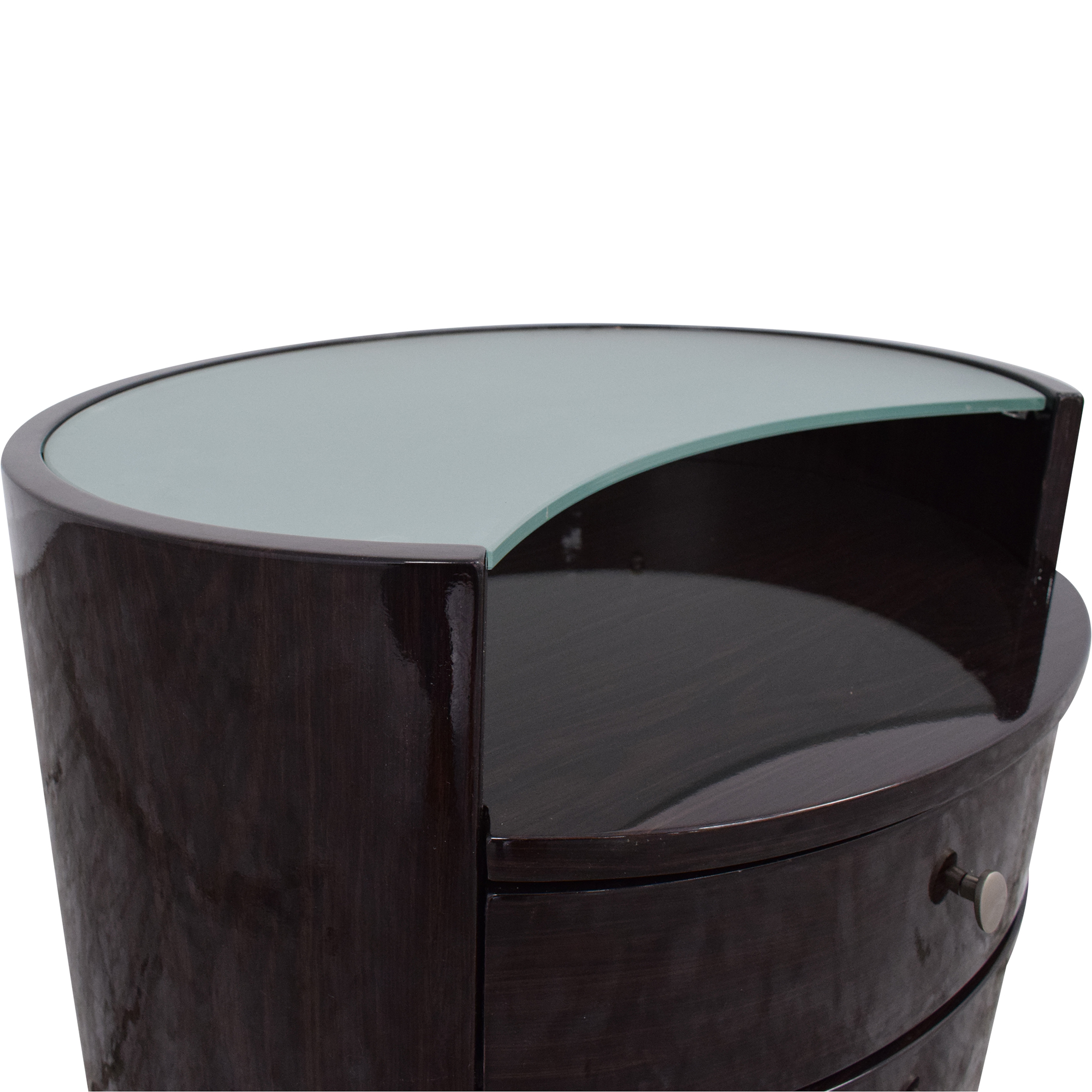 American Eagle Furniture American Eagle Furniture Oval Nightstand second hand
