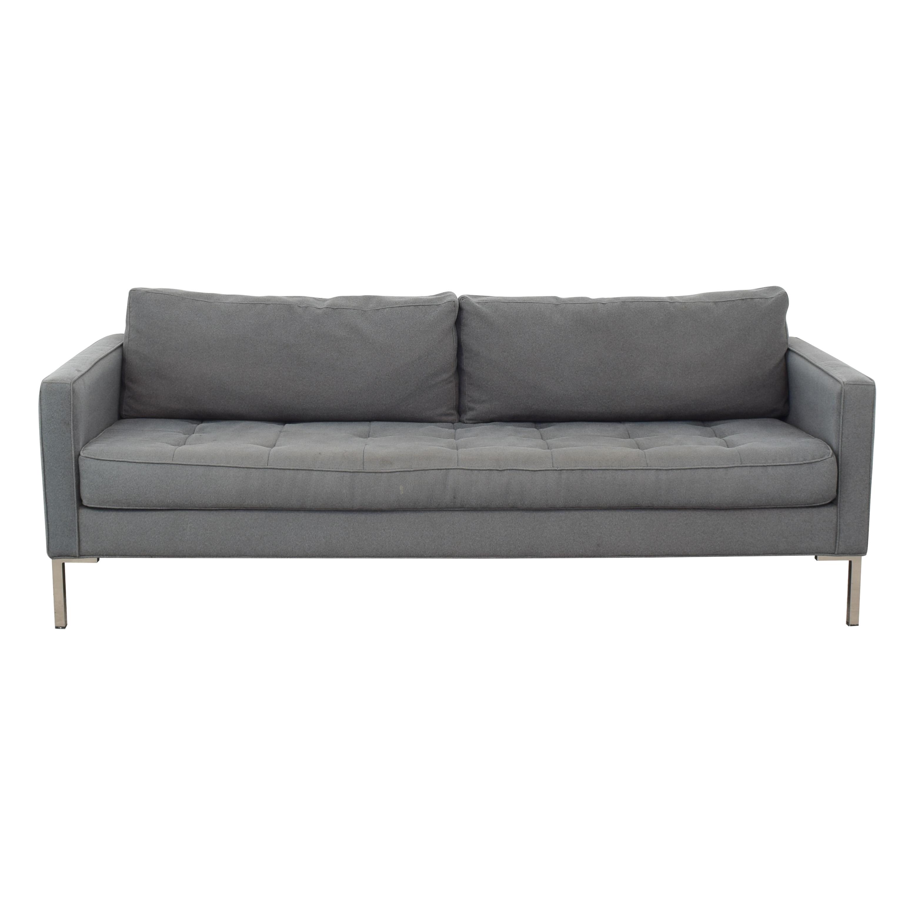 Blu Dot Blu Dot Paramount Modern Sofa dimensions