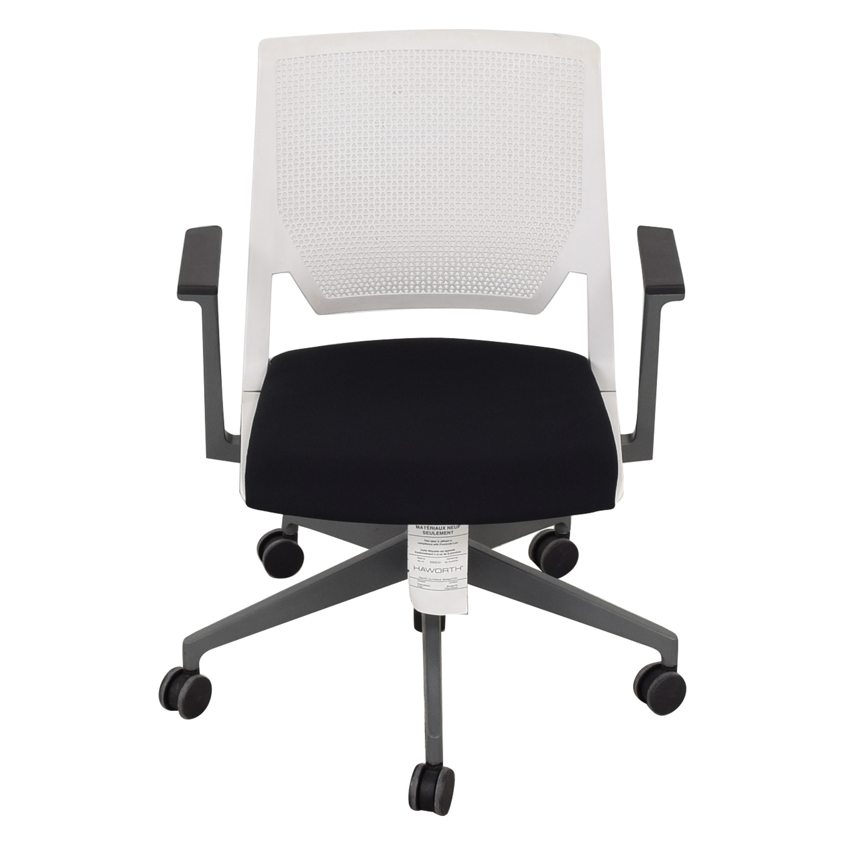Haworth Haworth Very Conference Chair with Arms dimensions