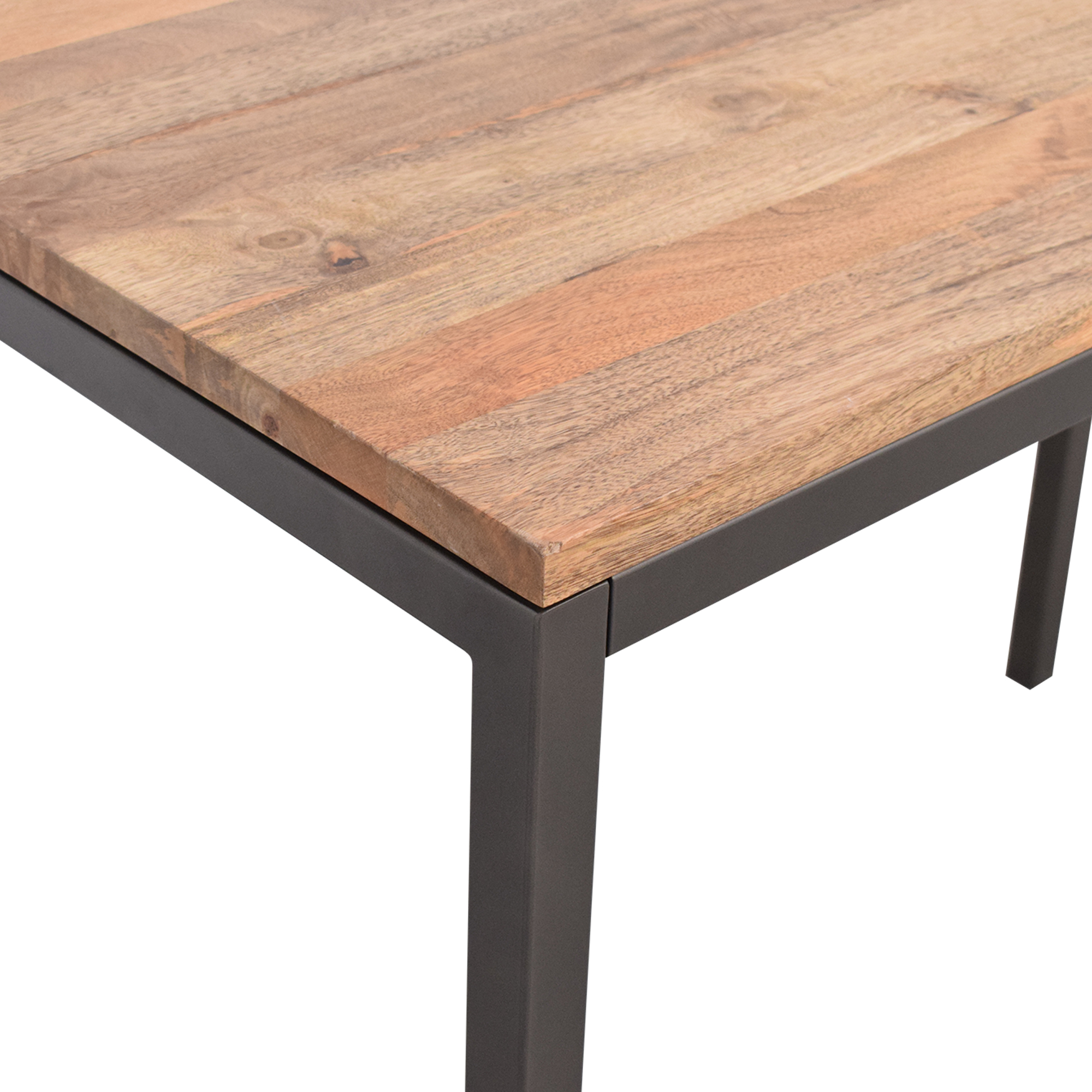 shop West Elm Box Frame Counter Table West Elm Dinner Tables
