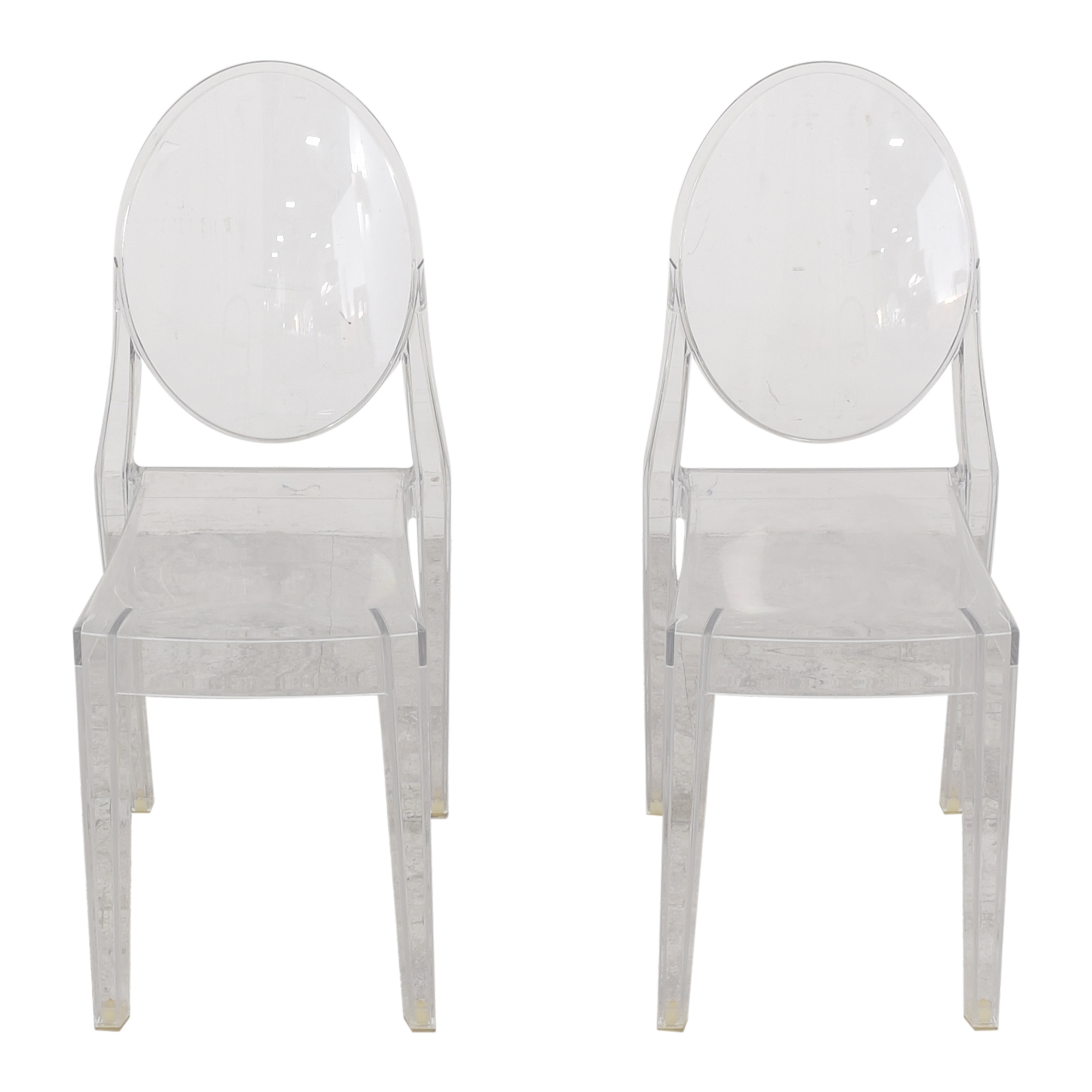 shop Philippe Starck for Kartell Victoria Ghost Chairs Kartell Chairs