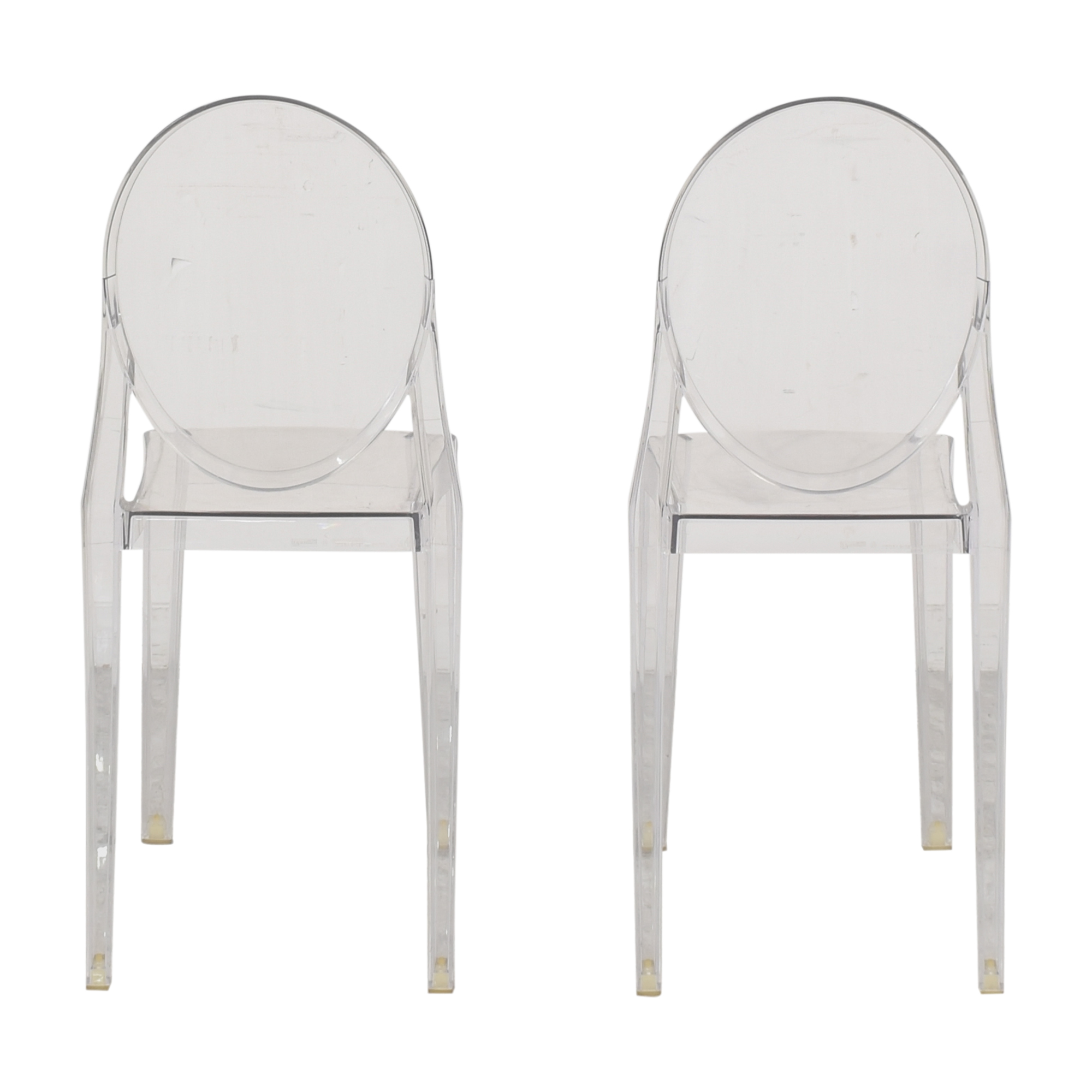 buy Philippe Starck for Kartell Victoria Ghost Chairs Kartell Dining Chairs