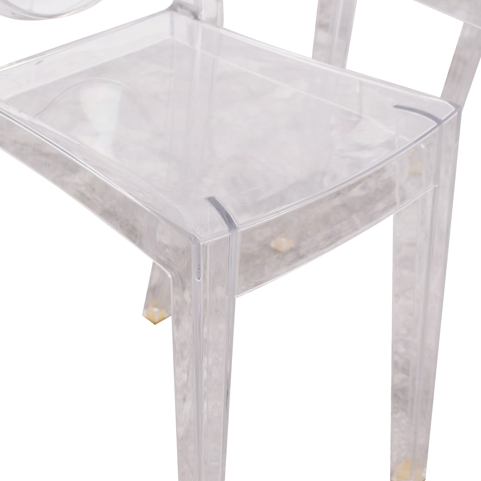 shop Philippe Starck for Kartell Victoria Ghost Chairs Kartell Dining Chairs