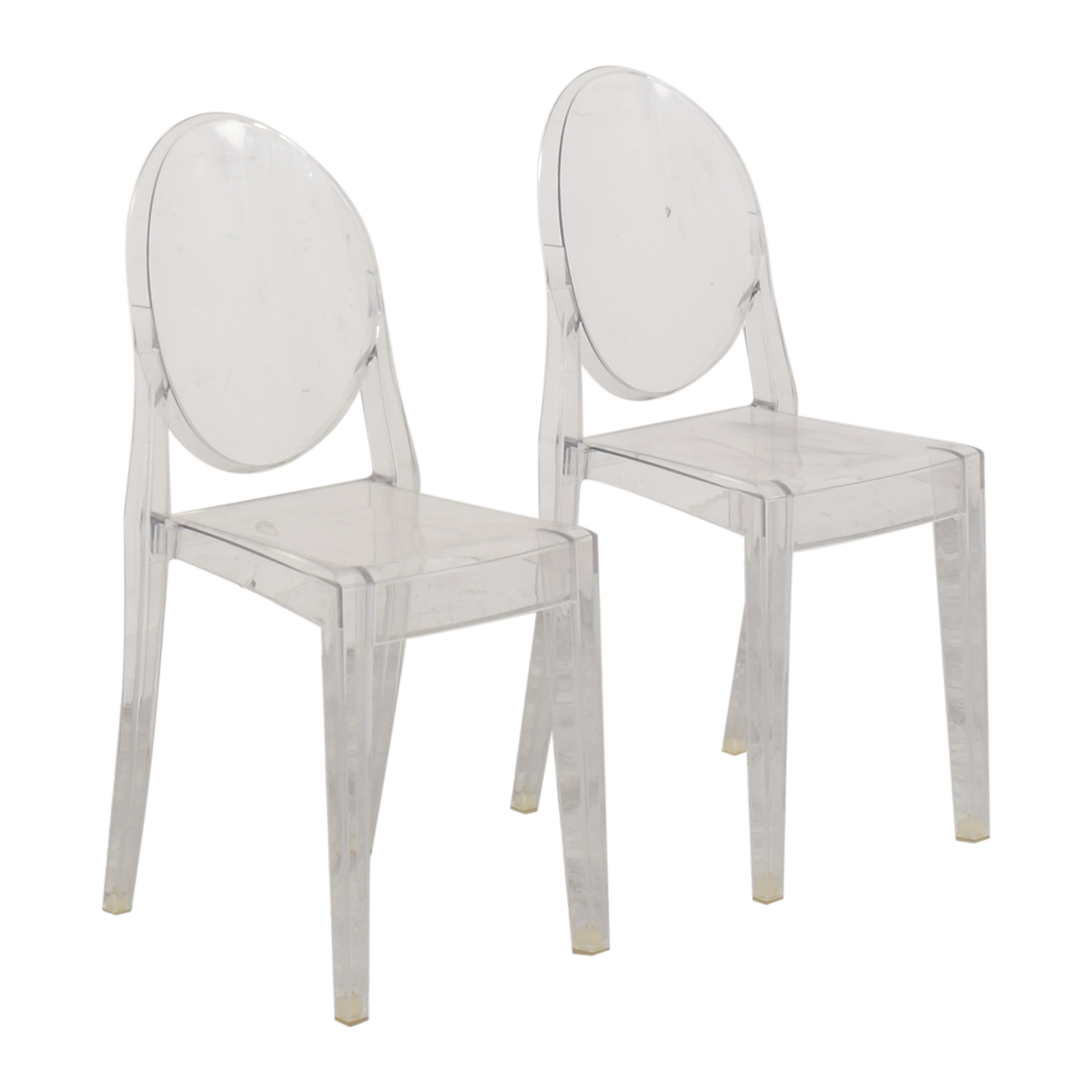 Philippe Starck for Kartell Victoria Ghost Chairs sale