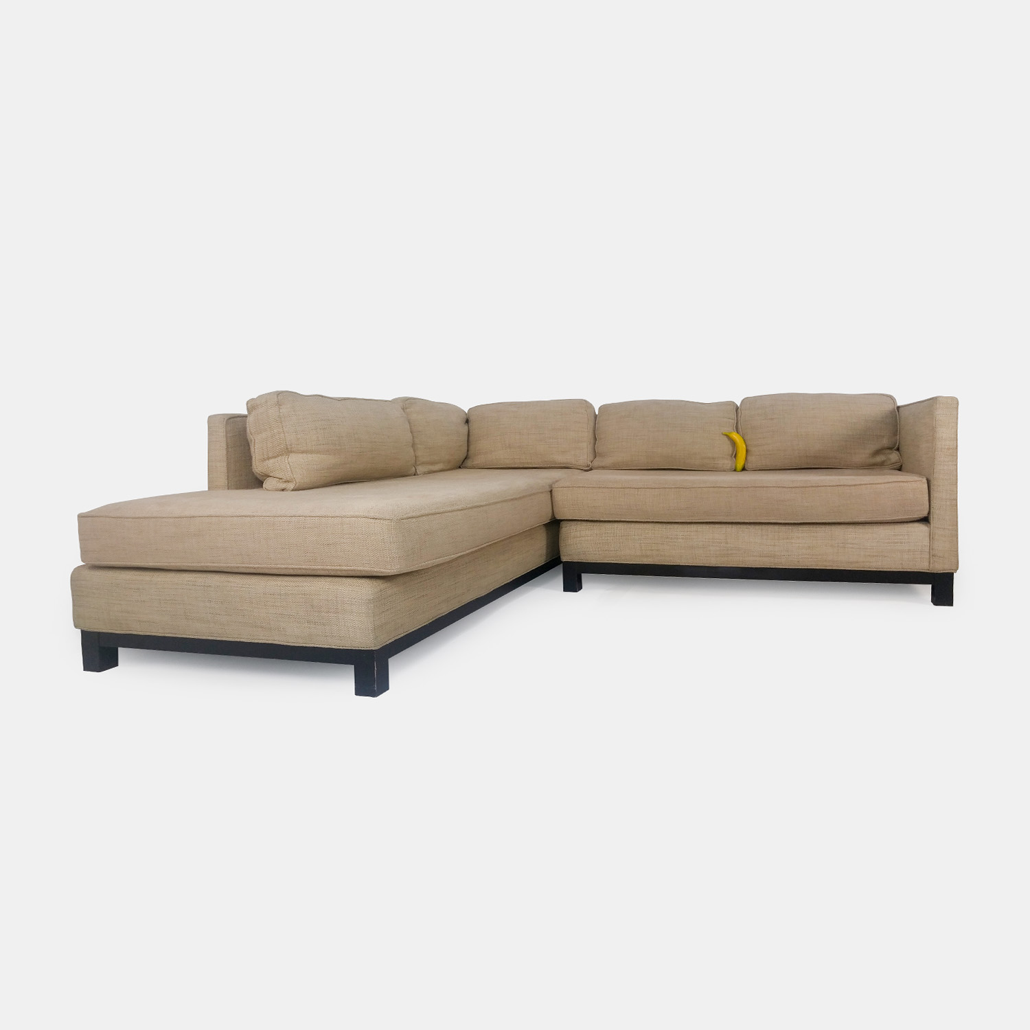 51 Off Mitchell Gold Mitchell Gold Beige Sectional Sofas