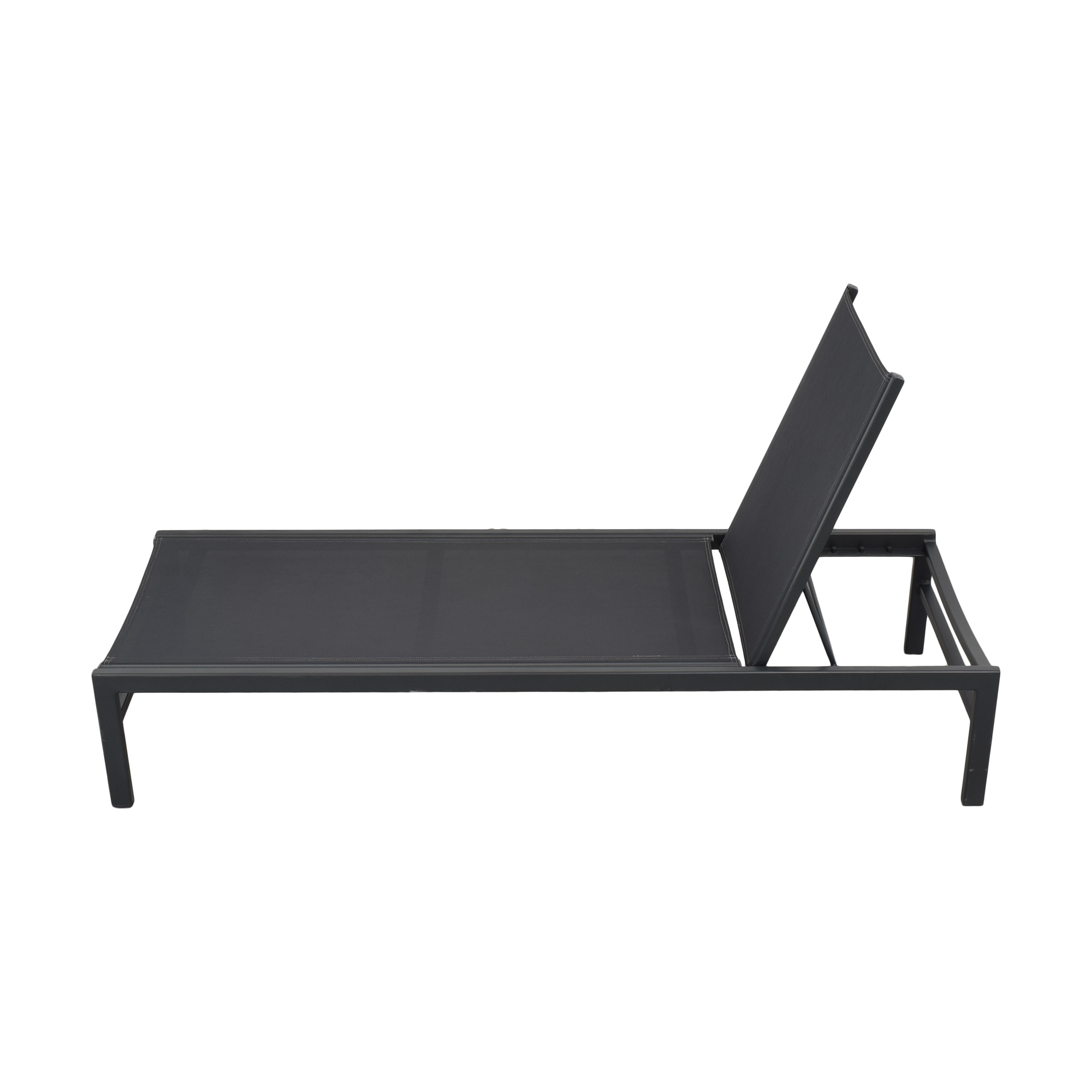 CB2 CB2 Idle Outdoor Lounger dimensions