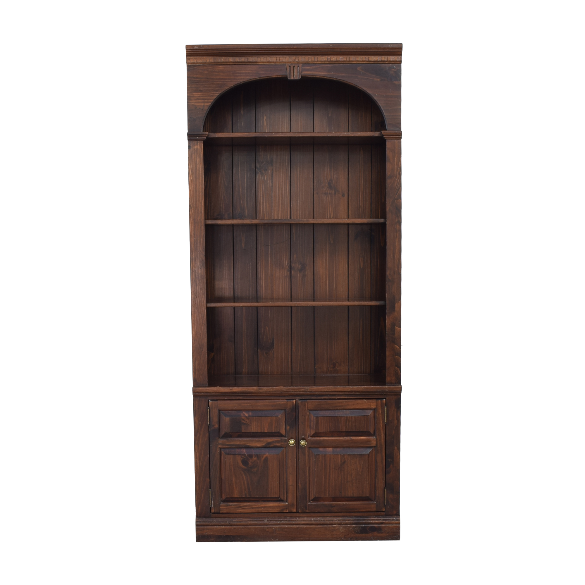shop Ethan Allen Georgian Court Bookcase Ethan Allen Storage