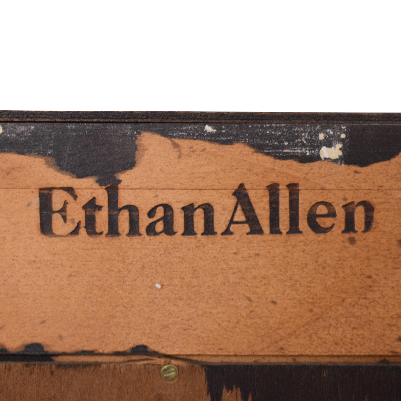 shop Ethan Allen Georgian Court Bookcase Ethan Allen