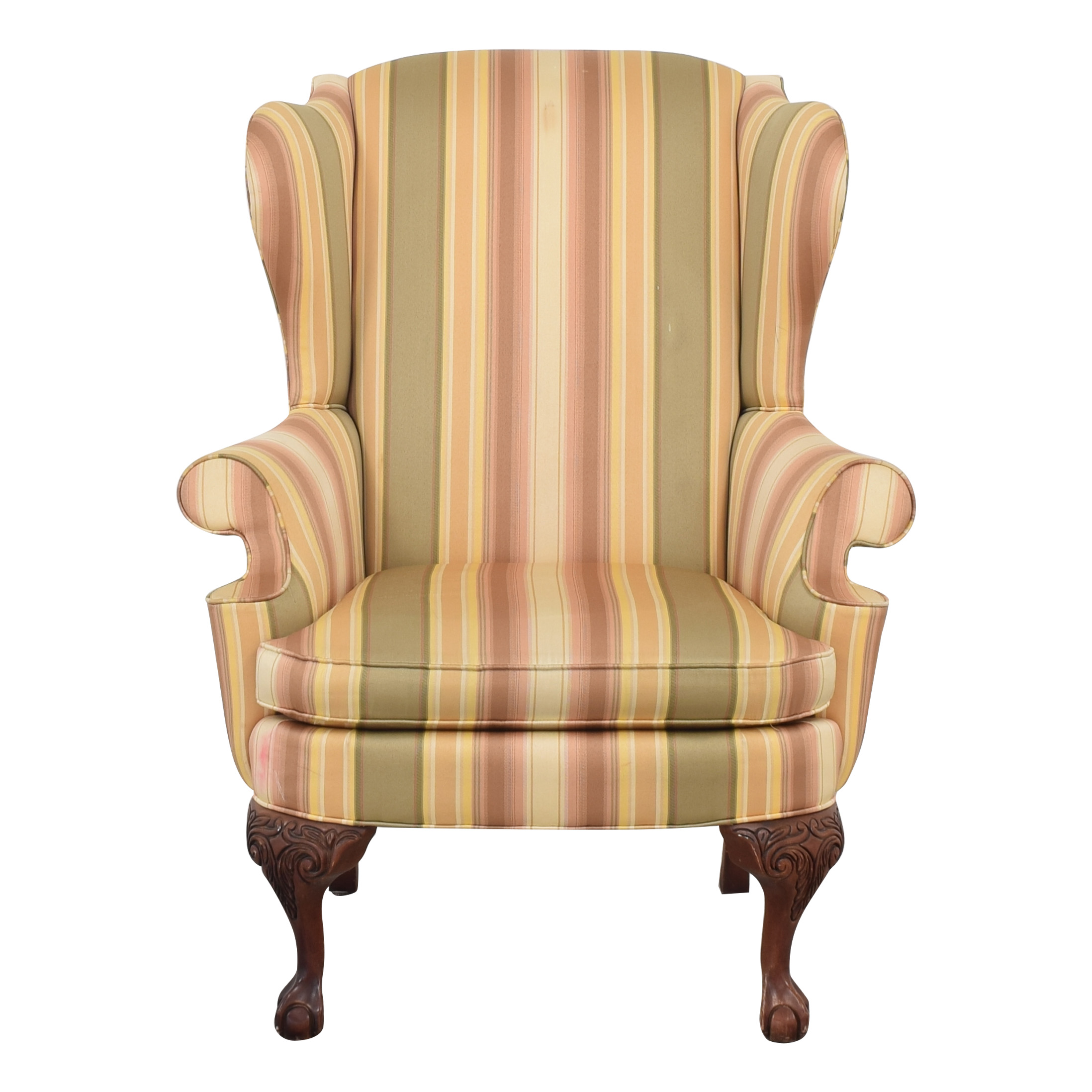 Thomasville Thomasville Wingback Chair multicolored