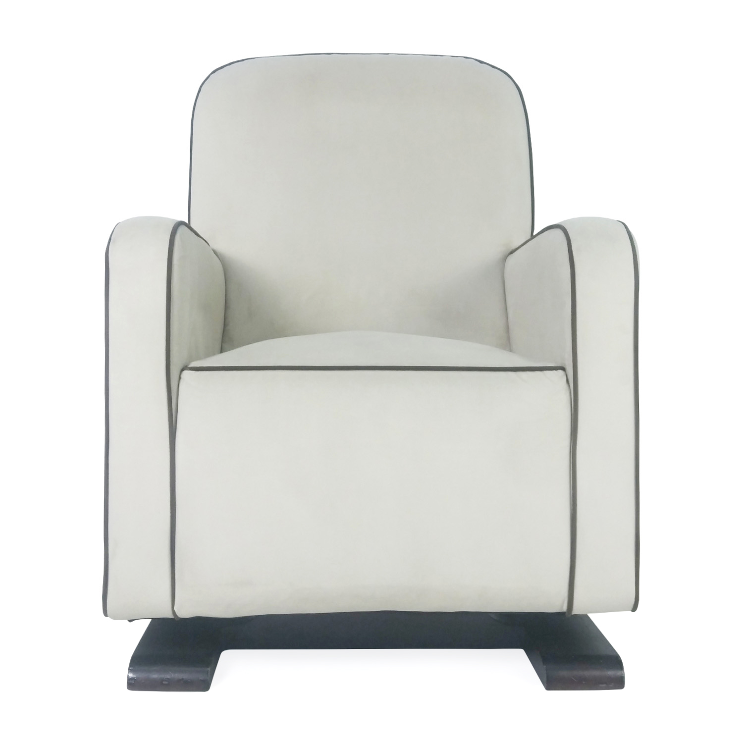 Modern White Rocking Chair / Accent Chairs