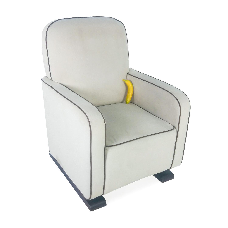White Rocking Chair ~ Off modern white rocking chair chairs