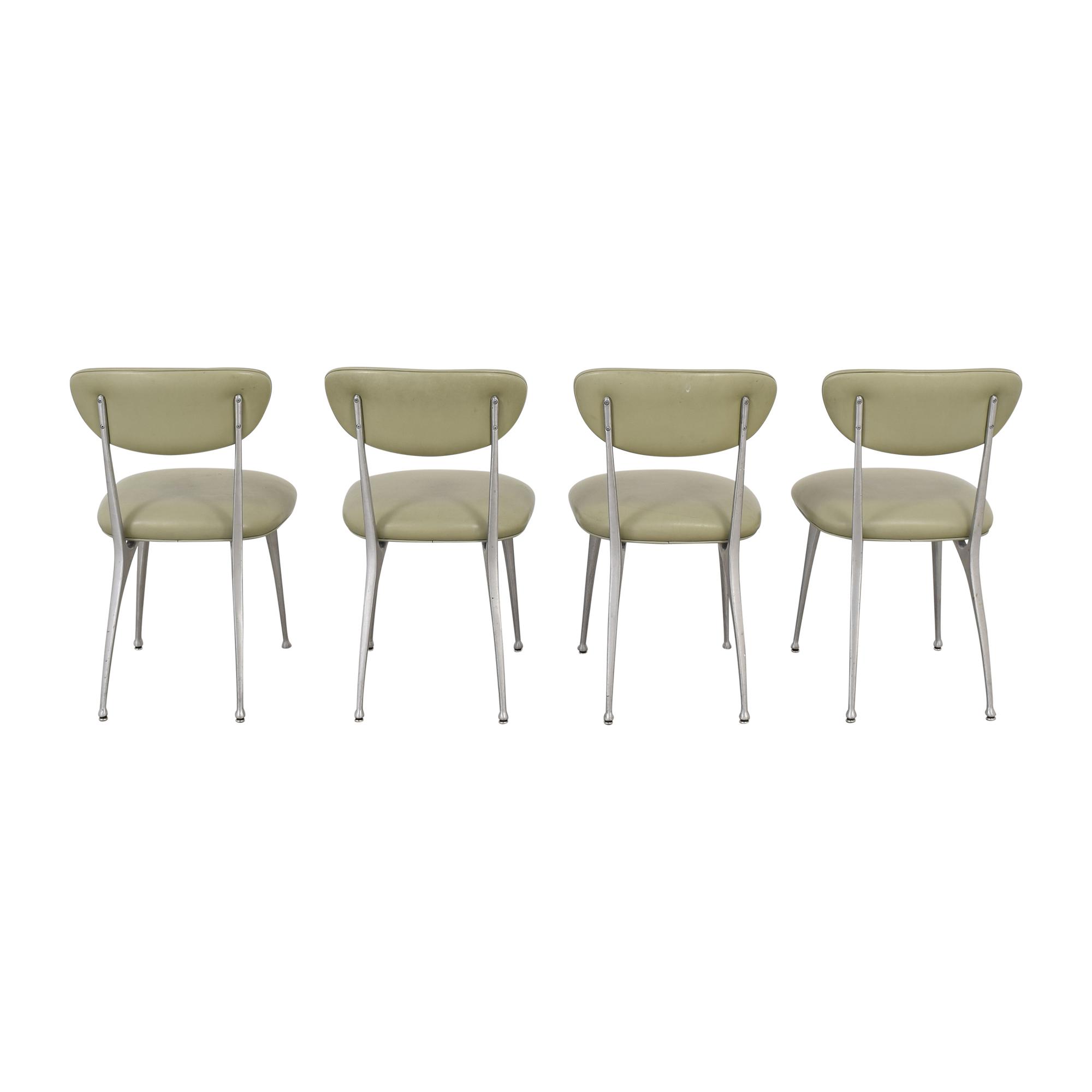 Modernica Modernica Vintage Dining Chairs light grey