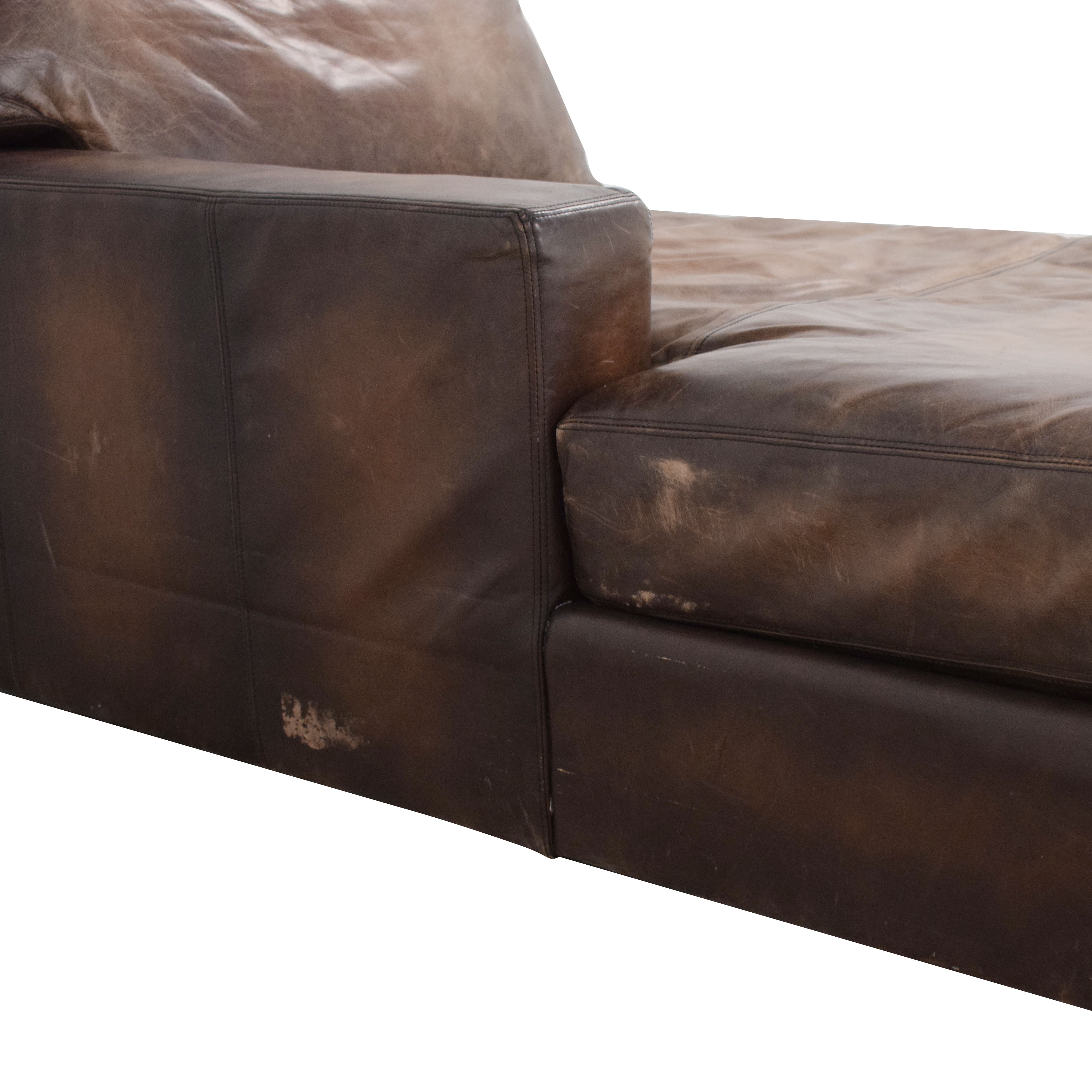Pottery Barn Pottery Barn Turner Chaise Lounge ct