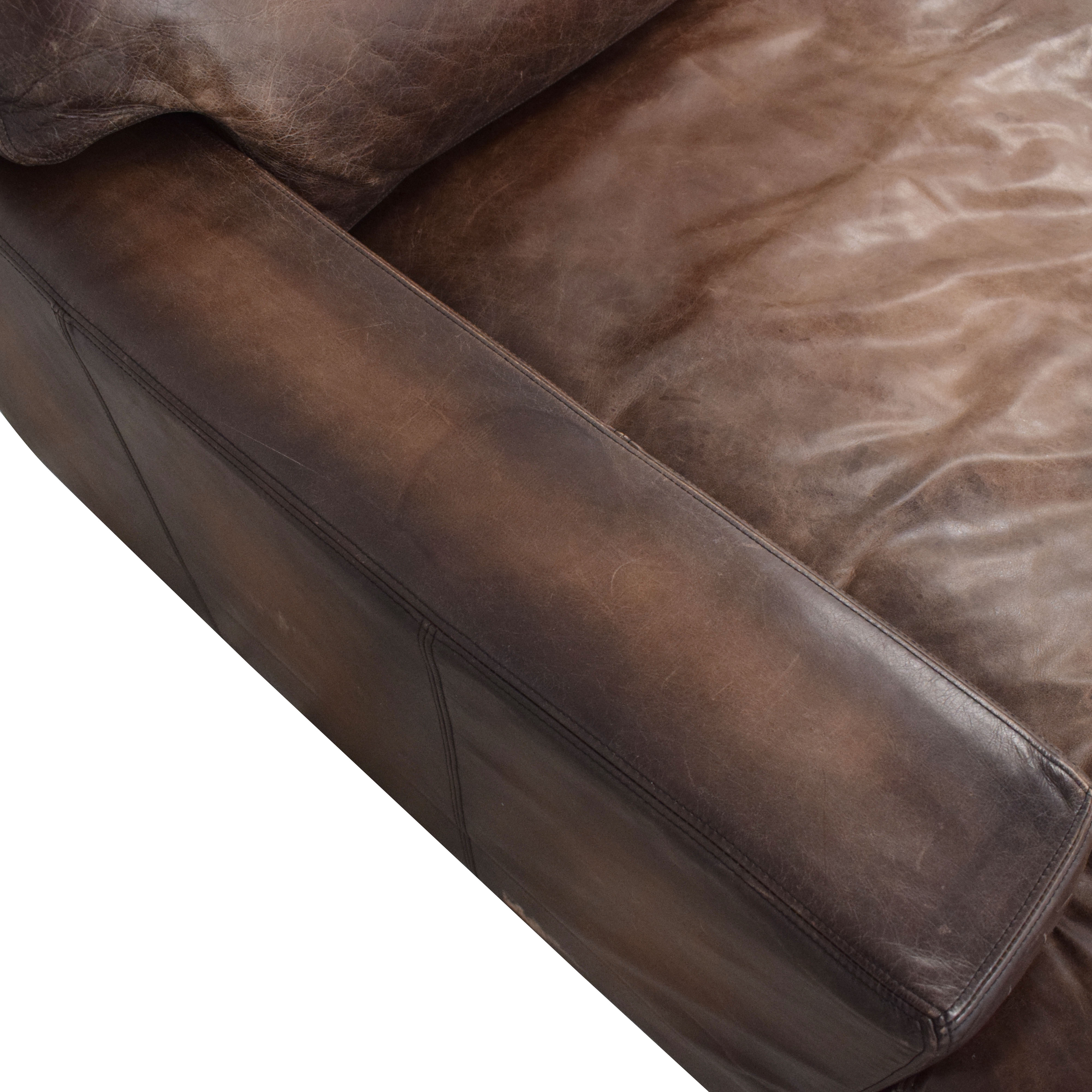 buy Pottery Barn Turner Chaise Lounge Pottery Barn