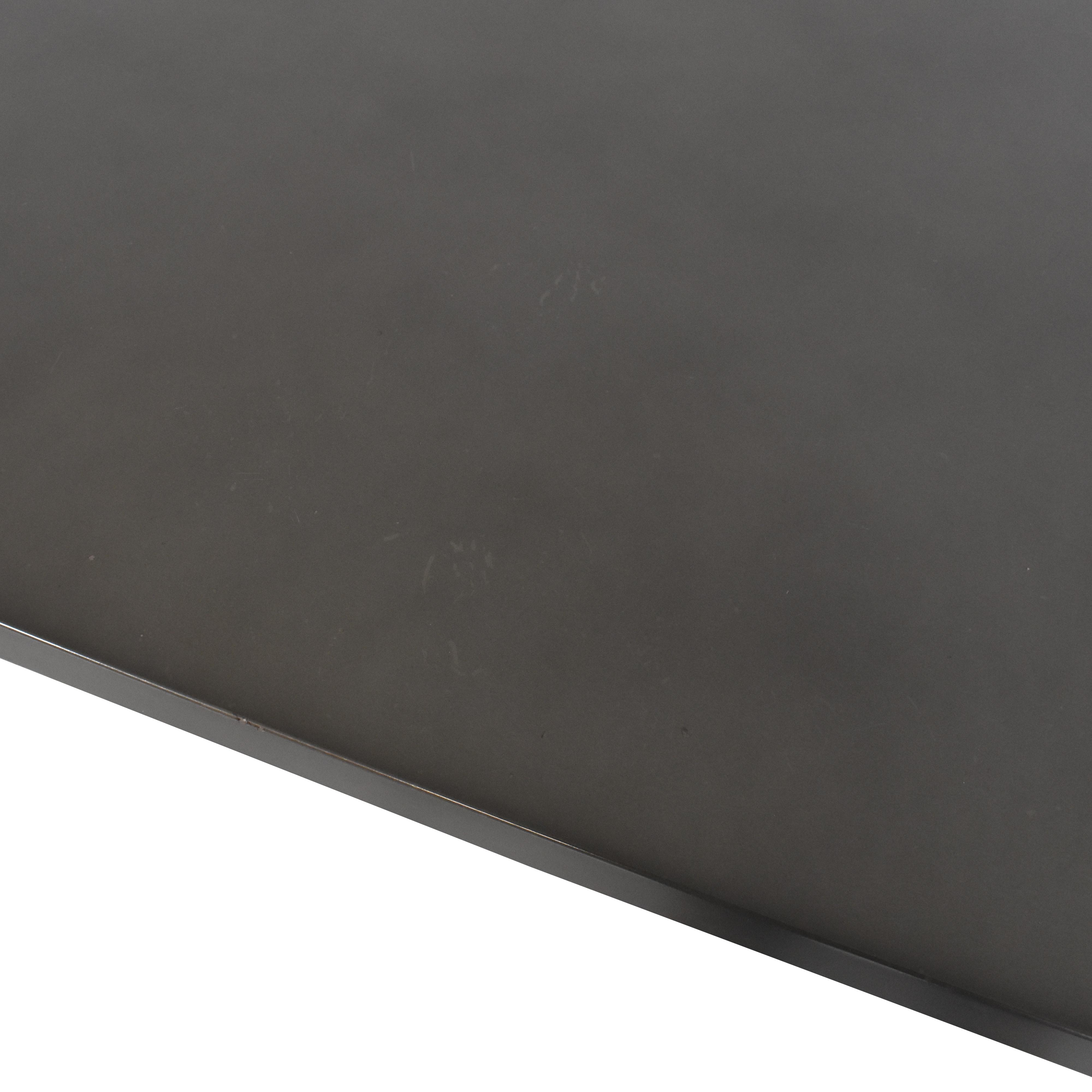 shop Restoration Hardware Reclaimed Wood & Zinc-Top Rectangular Dining Table Restoration Hardware Tables