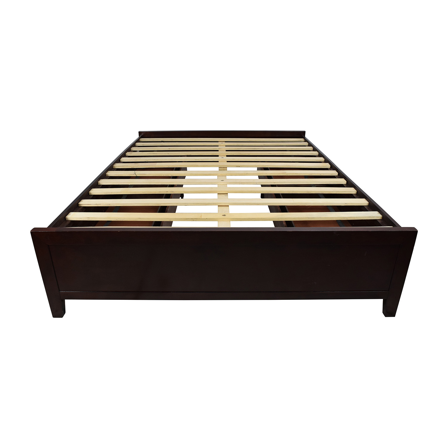 Wooden Queen Size Storage Bed Frame coupon