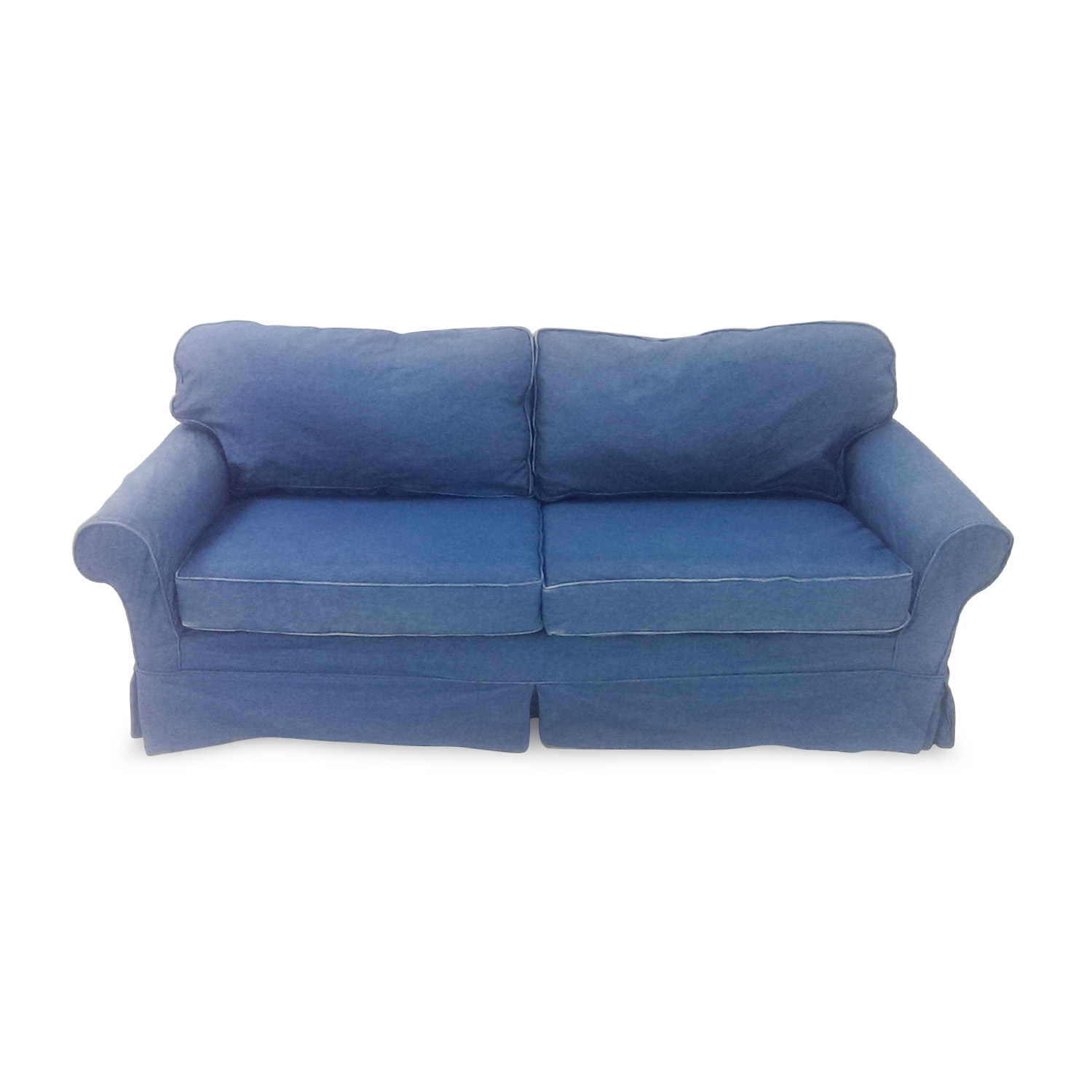 Blue Denim Couch used