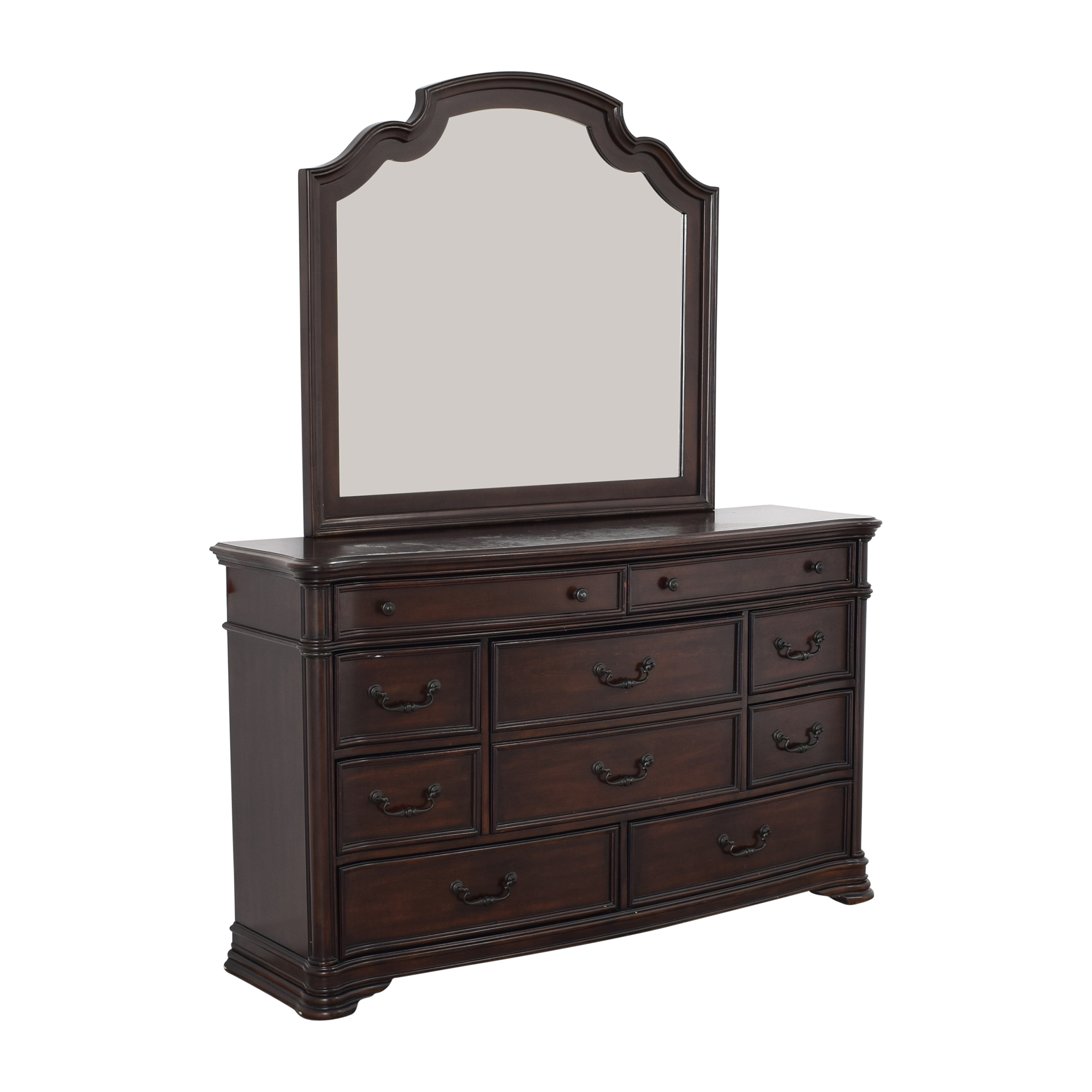 shop Ten Drawer Dresser and Mirror