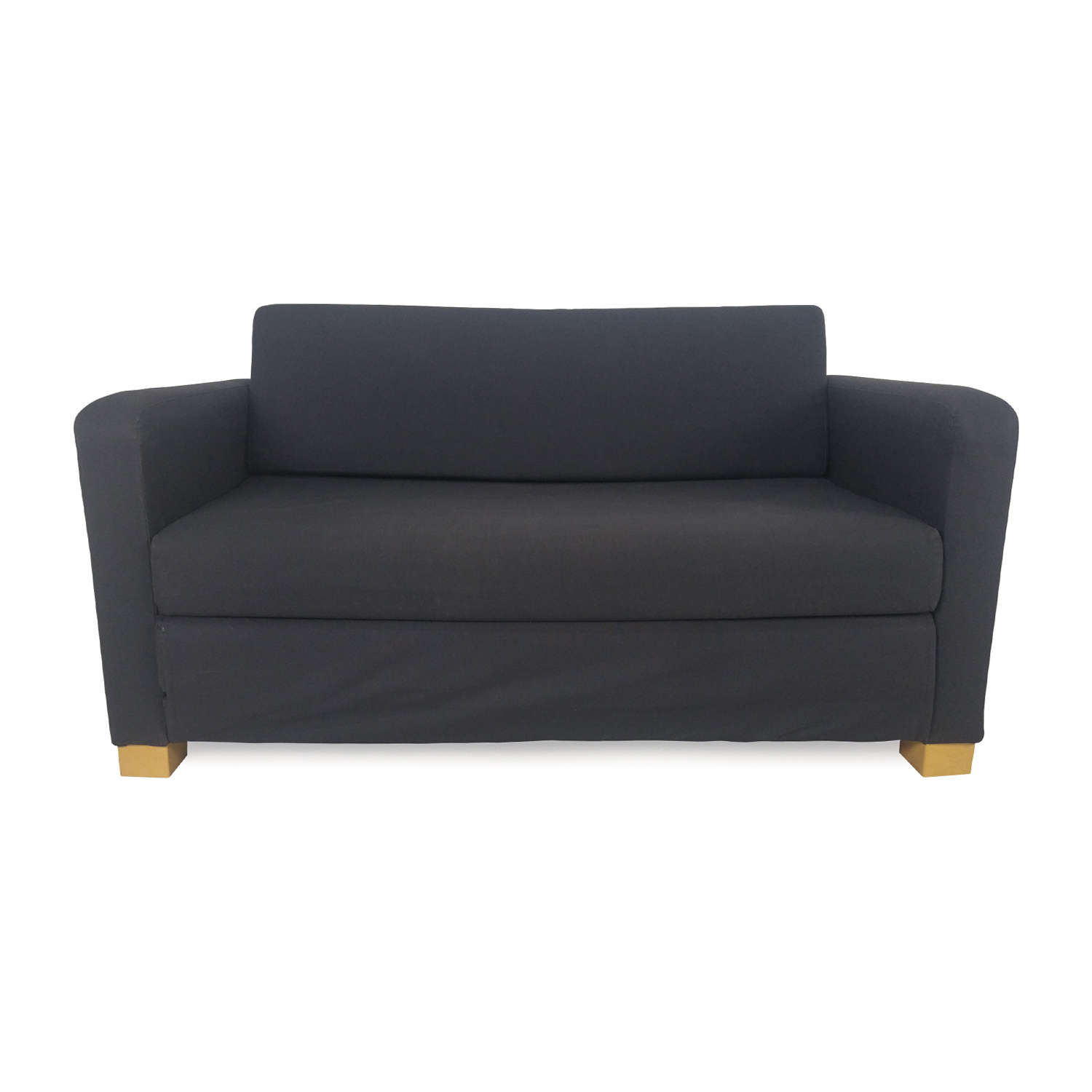 IKEA Off Blue Futon Sofa Bed For Sale