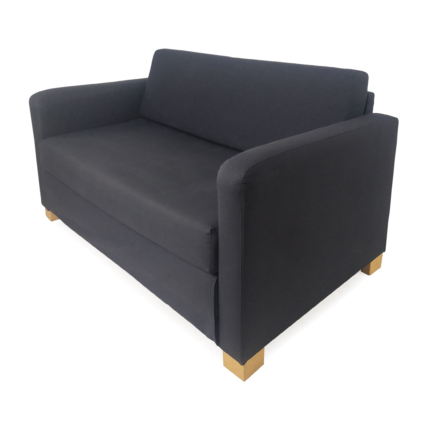 57 Off Ikea Off Blue Futon Sofa Bed Sofas