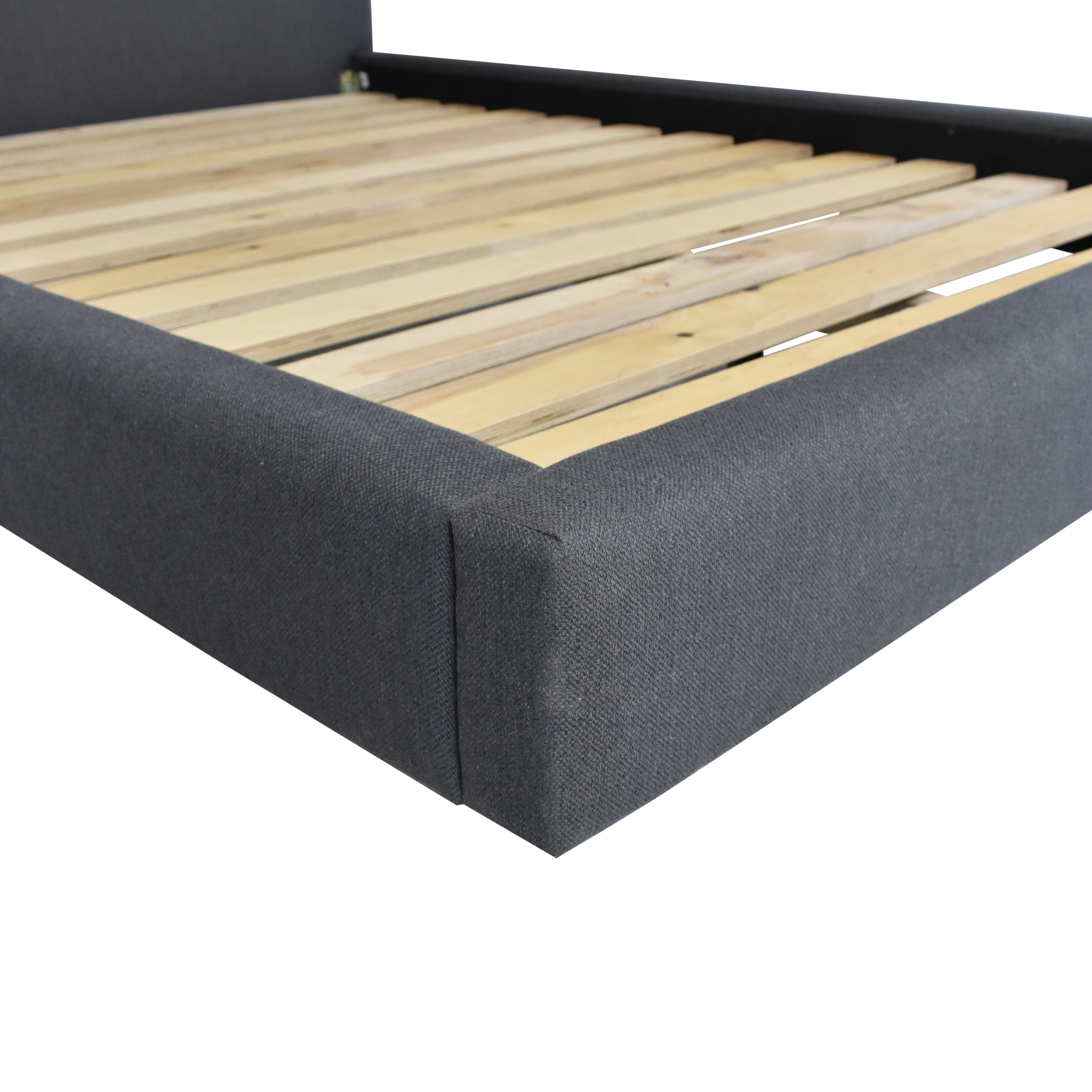 Crate & Barrel Tate Full Upholstered Bed / Beds