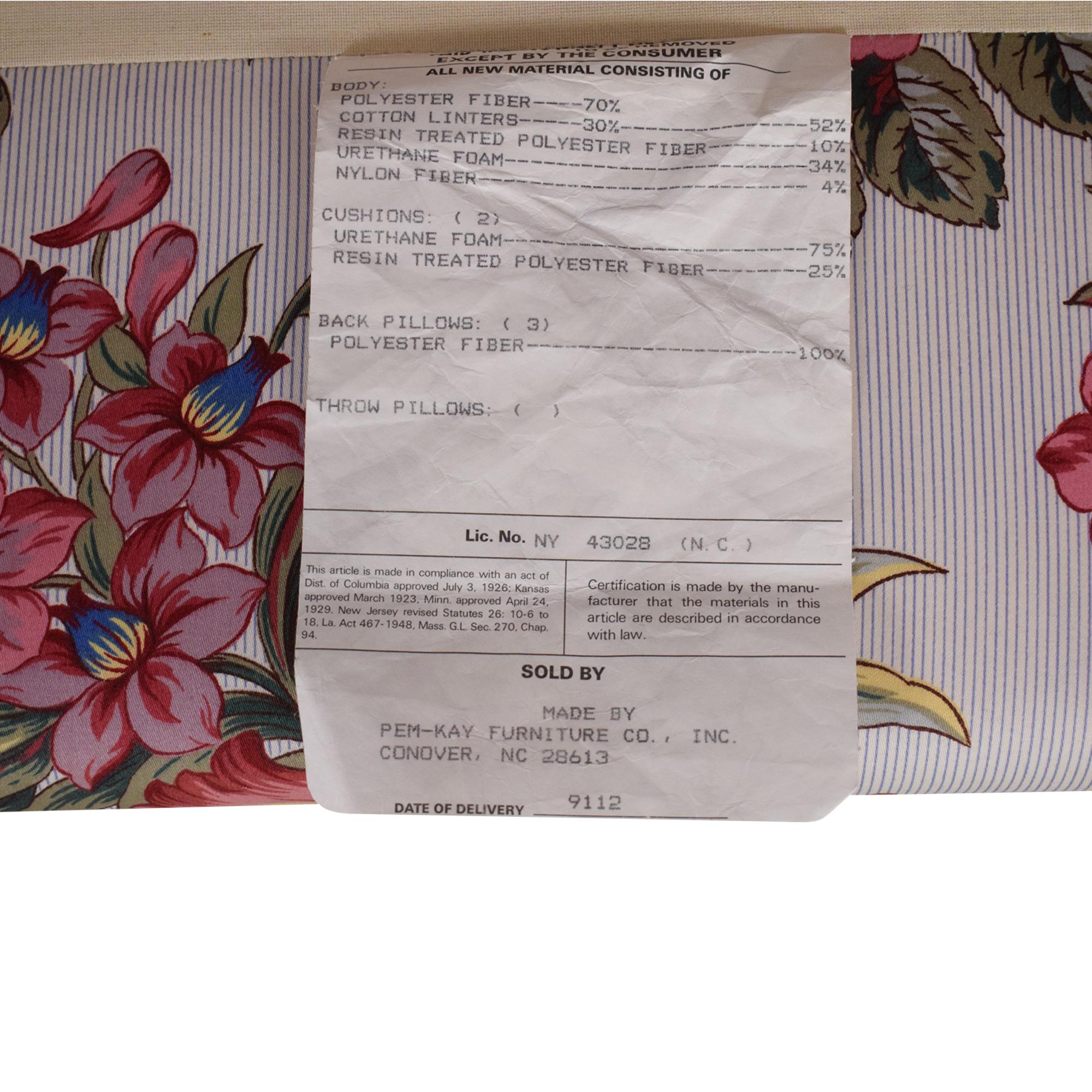 Bloomingdale's Bloomingdale's Custom Sofa discount