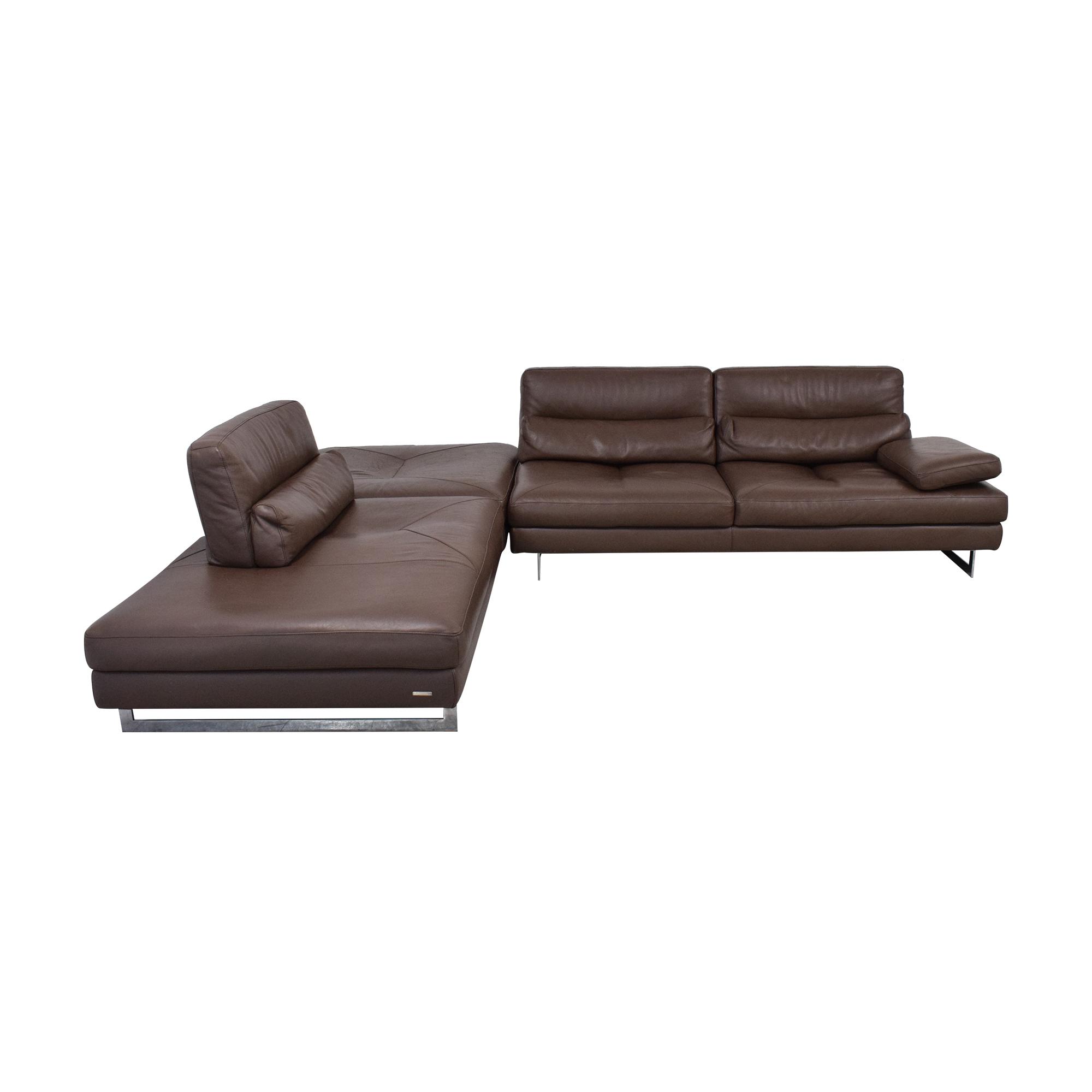 Roche Bobois Roche Bobois Scenario Chaise Sectional Sofa nyc