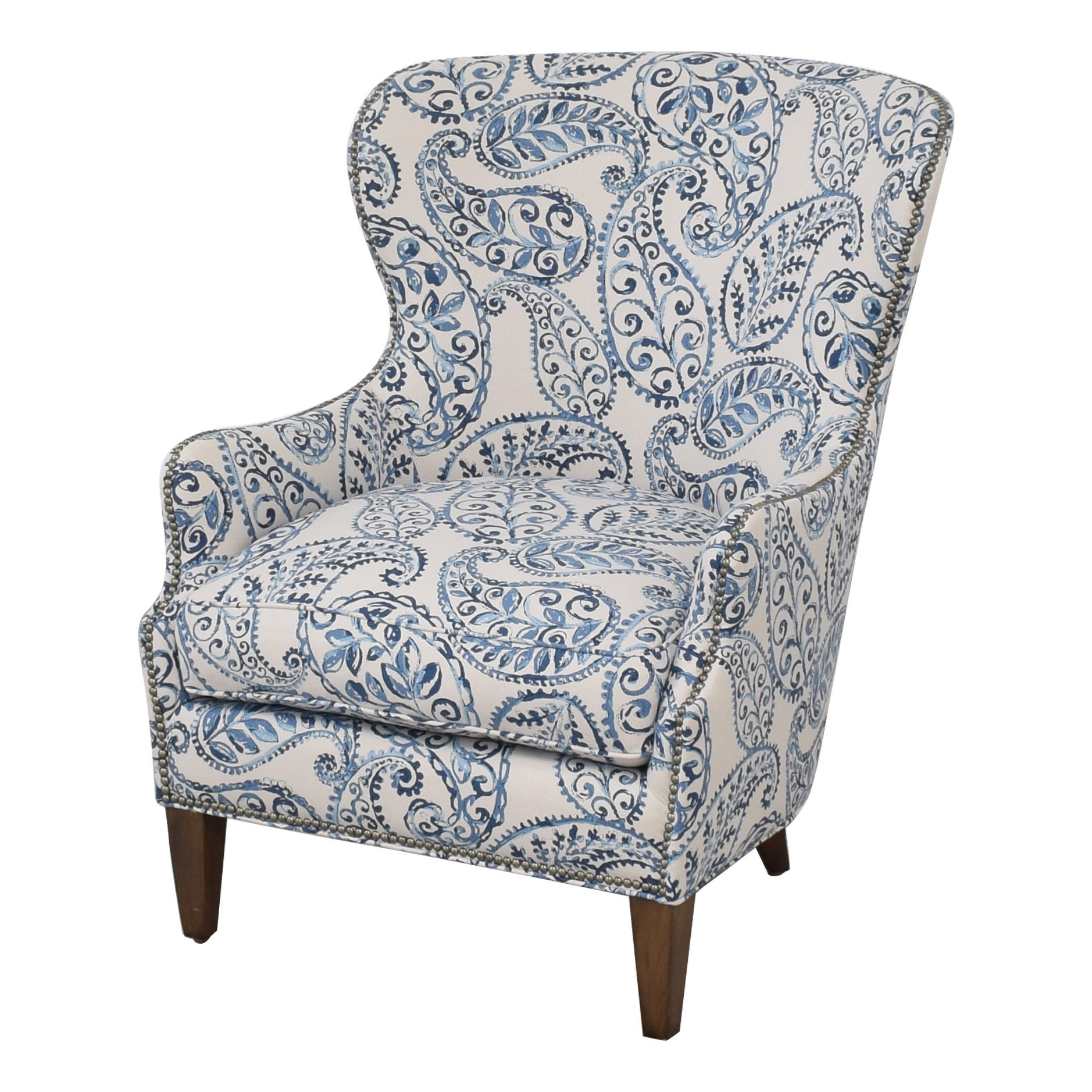 Crate & Barrel Crate & Barrel Brielle Wingback Chair used