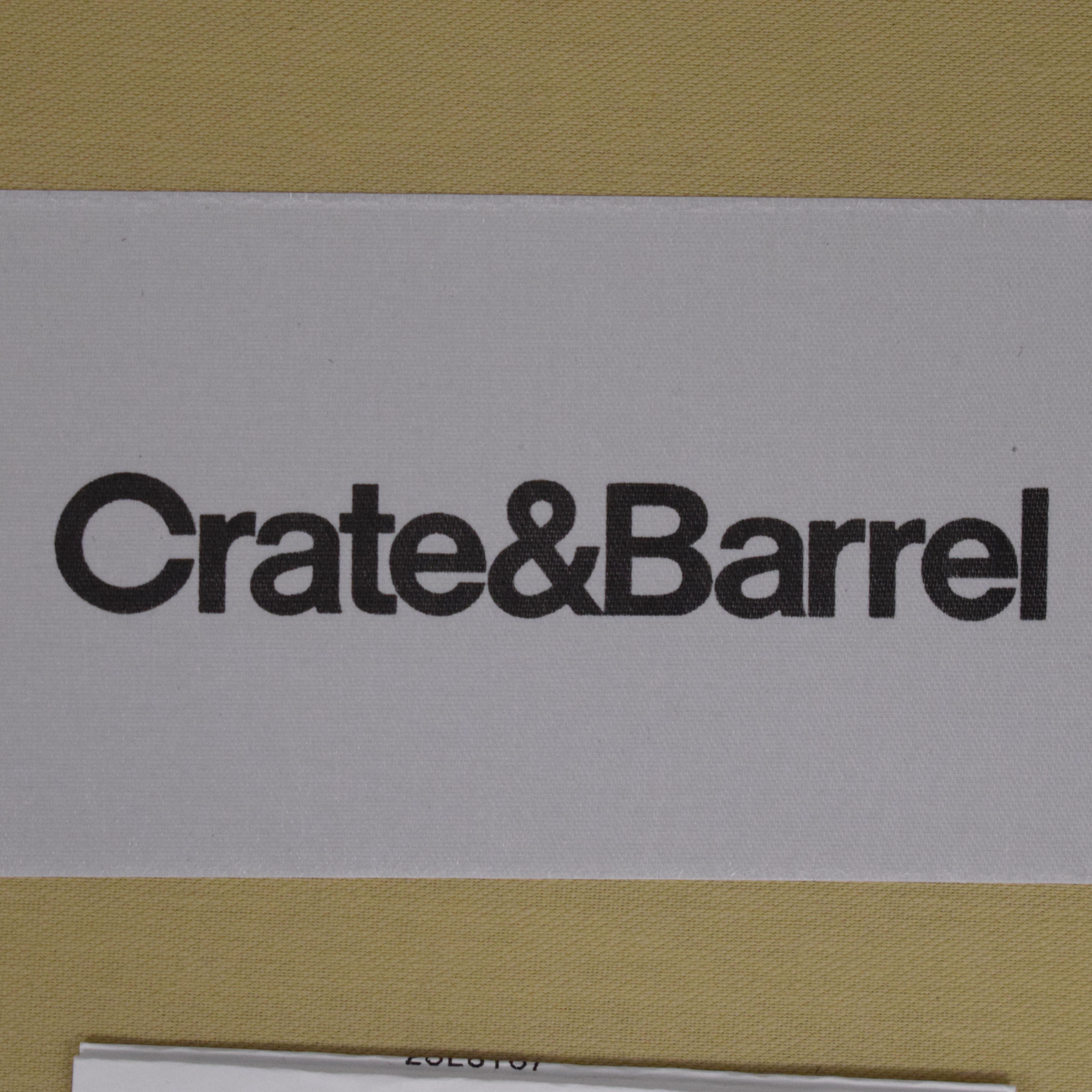 Crate & Barrel Brielle Wingback Chair sale