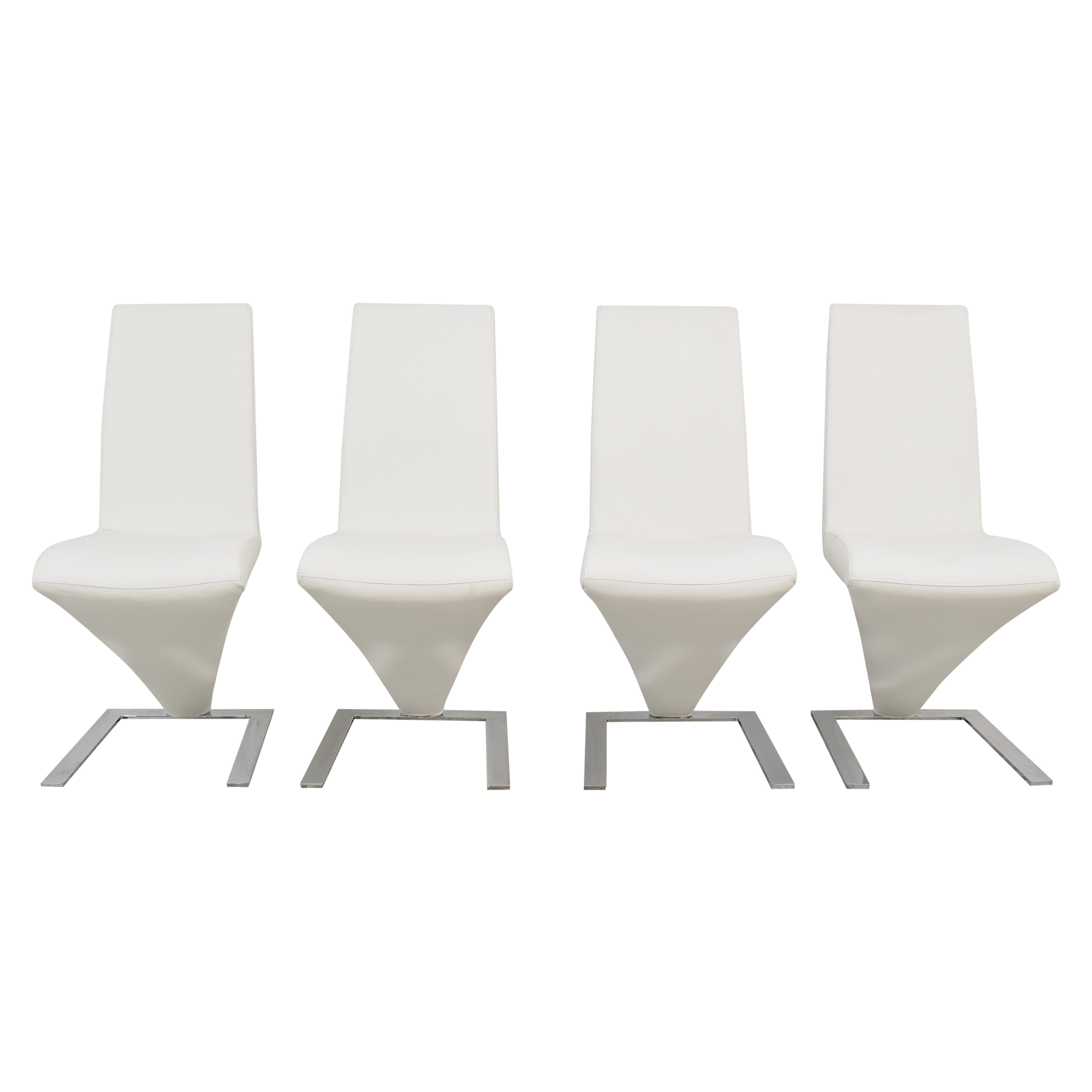 Zuo Modern Zuo Modern Herron Dining Chairs used