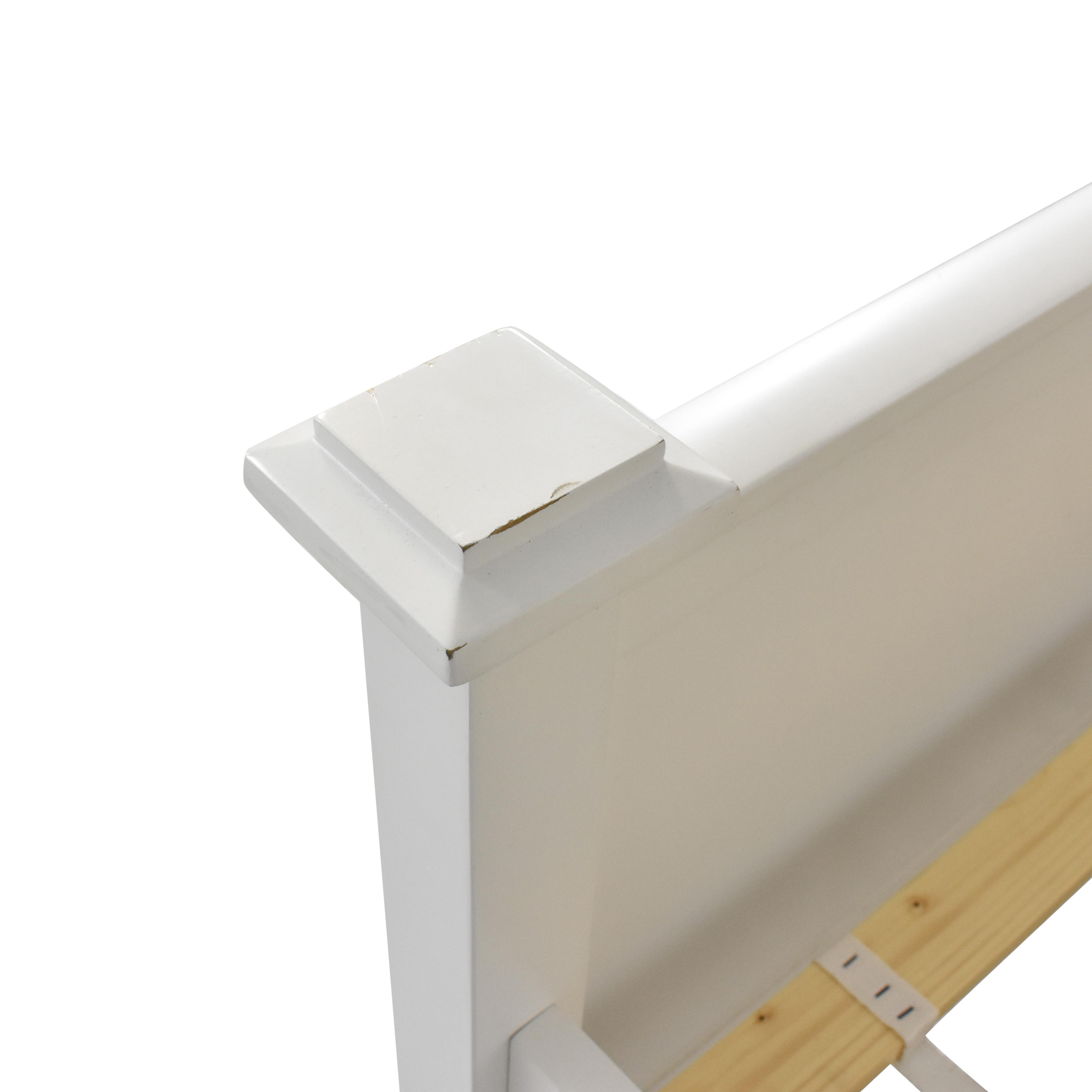 shop Crate & Barrel Full Bed Frame Crate & Barrel Bed Frames