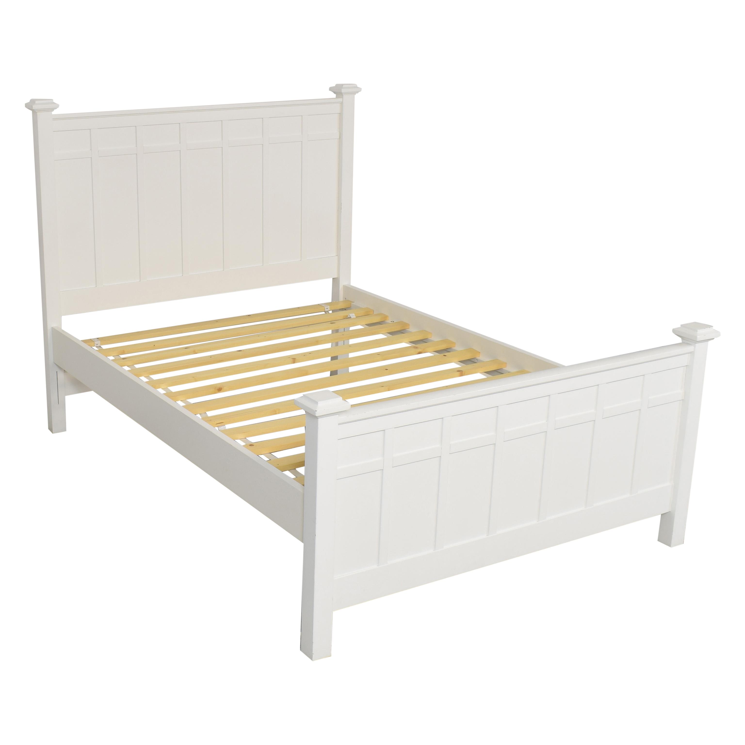shop Crate & Barrel Crate & Barrel Full Bed Frame online