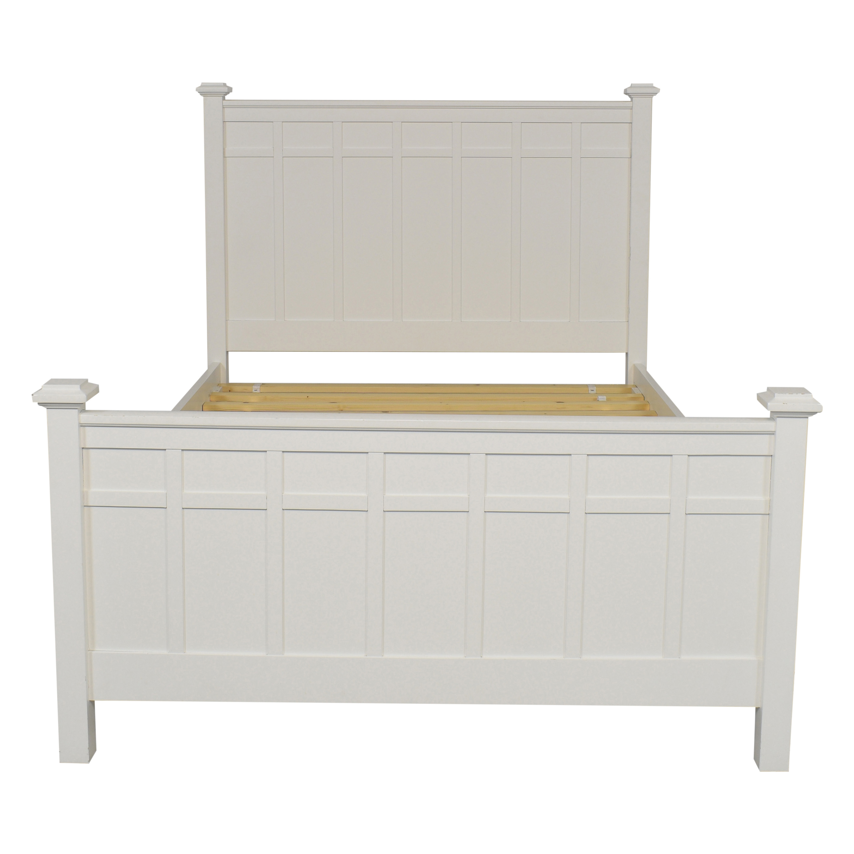 buy Crate & Barrel Brighton Full Bed Crate & Barrel Beds