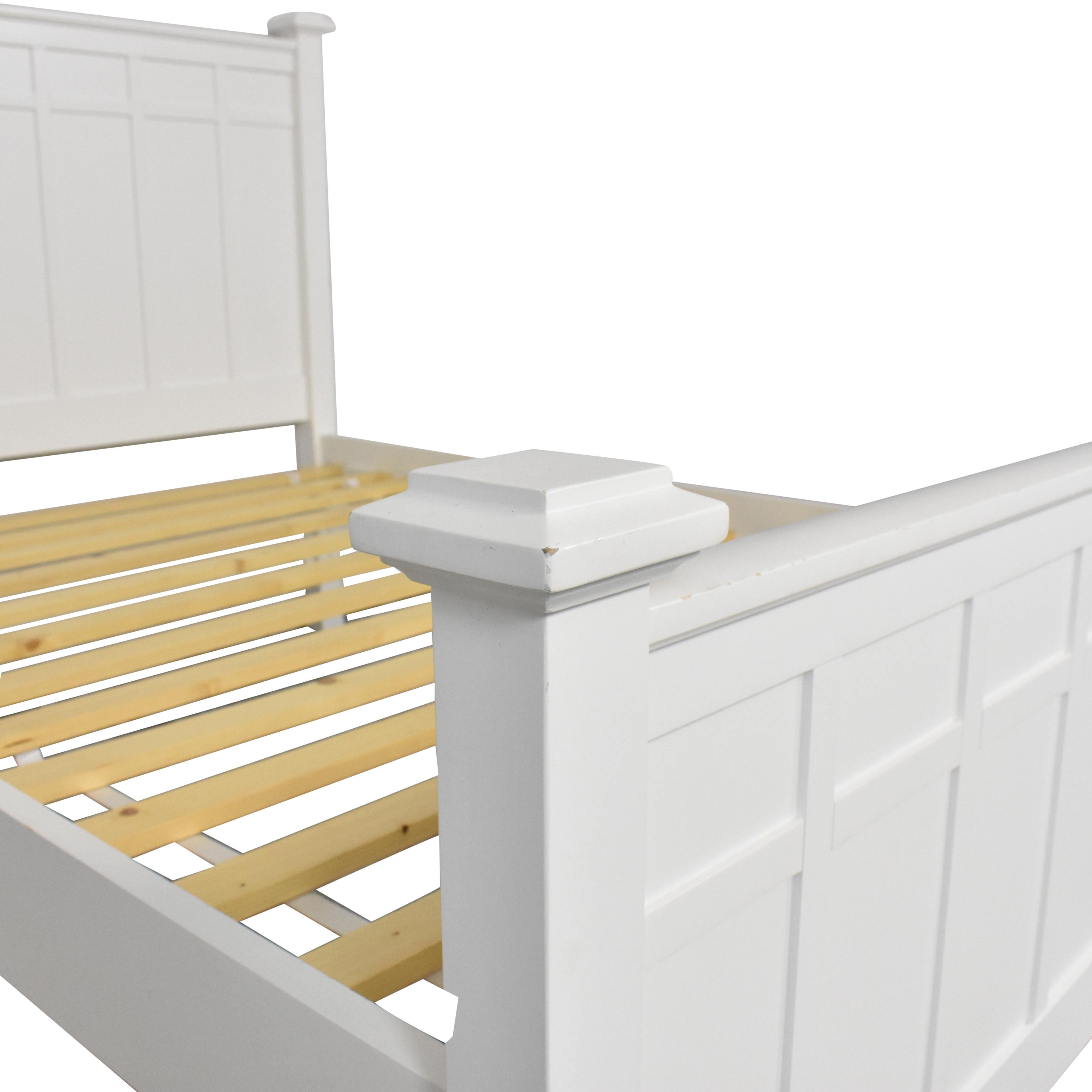 Crate & Barrel Crate & Barrel Full Bed Frame dimensions