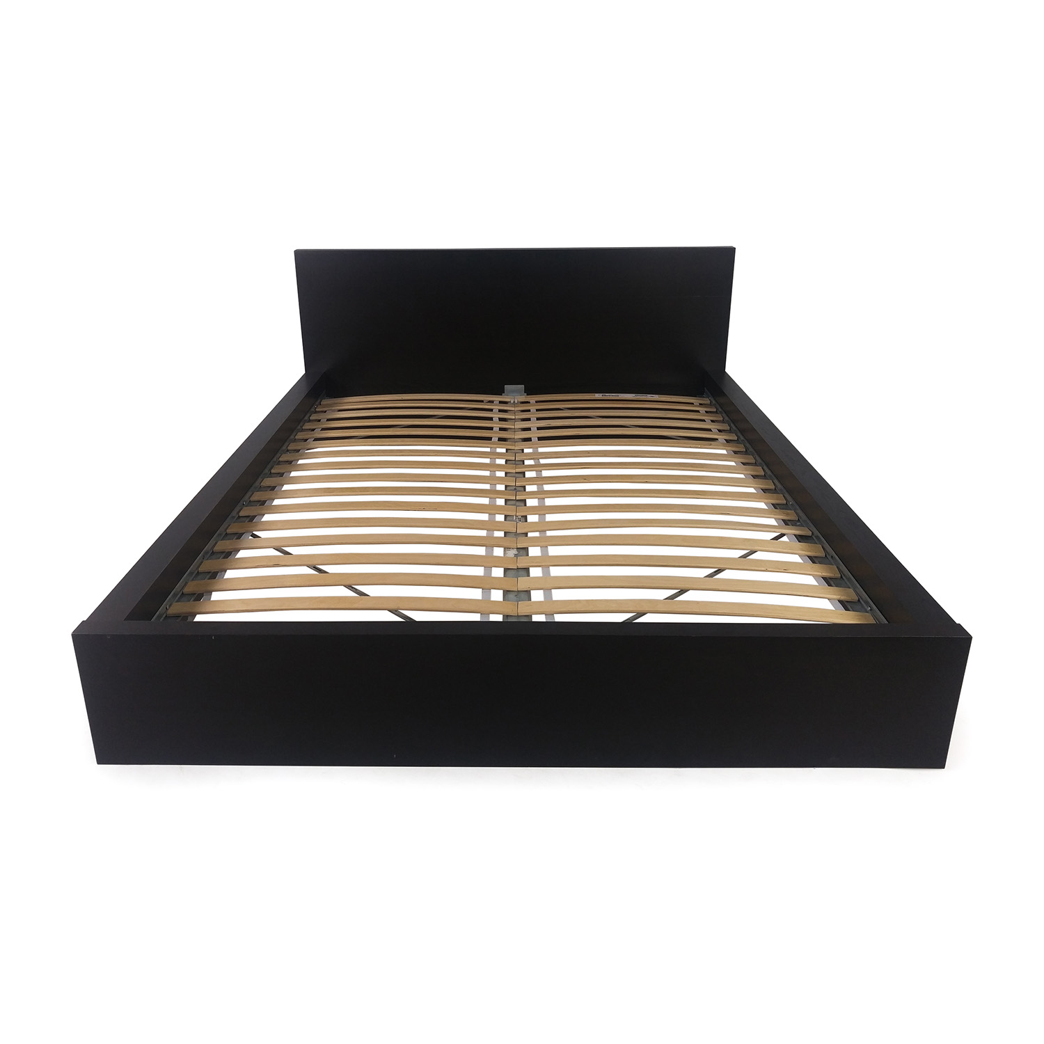 buy IKEA Queen Black Bed Frame online
