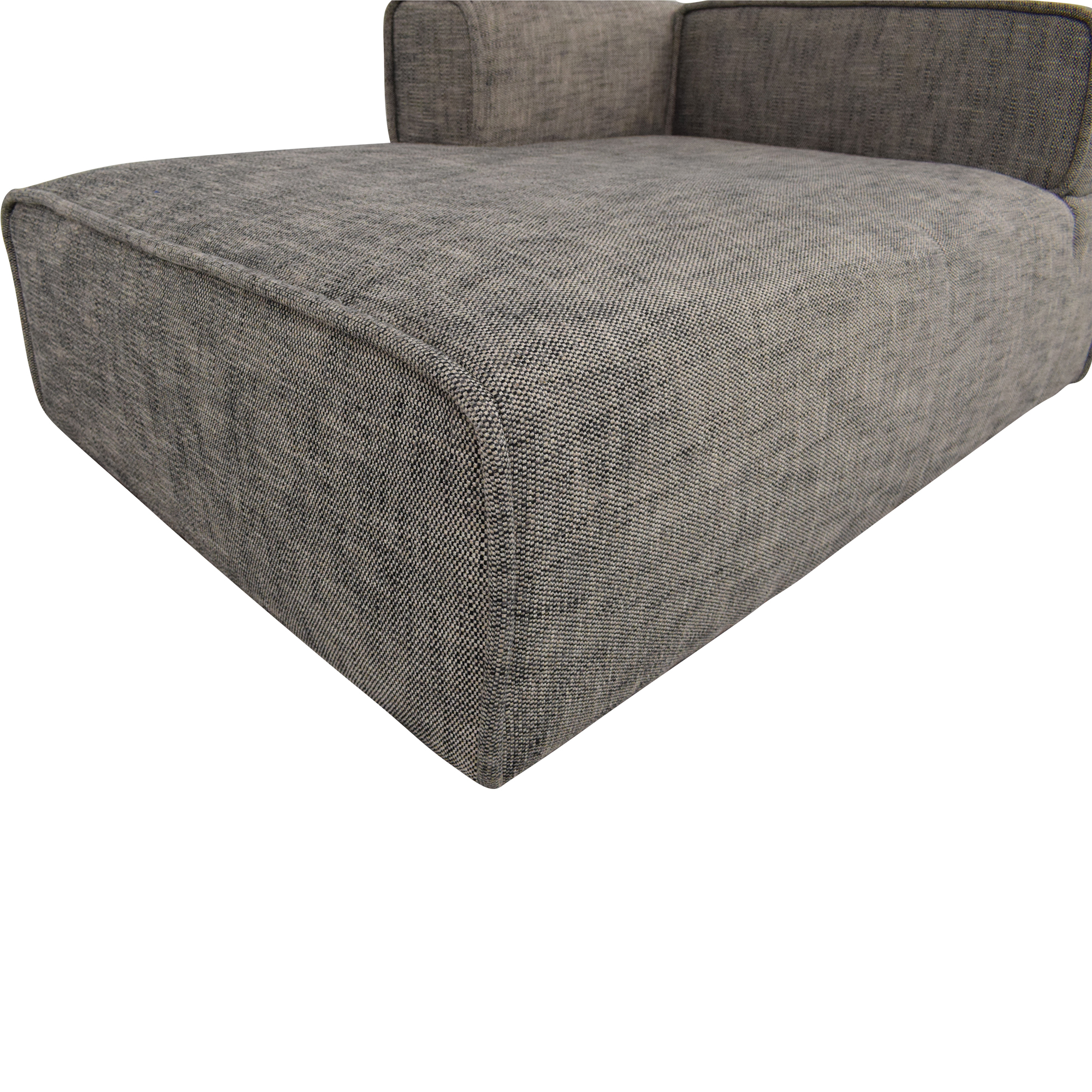 Article Article Quadra Left Chaise Module grey