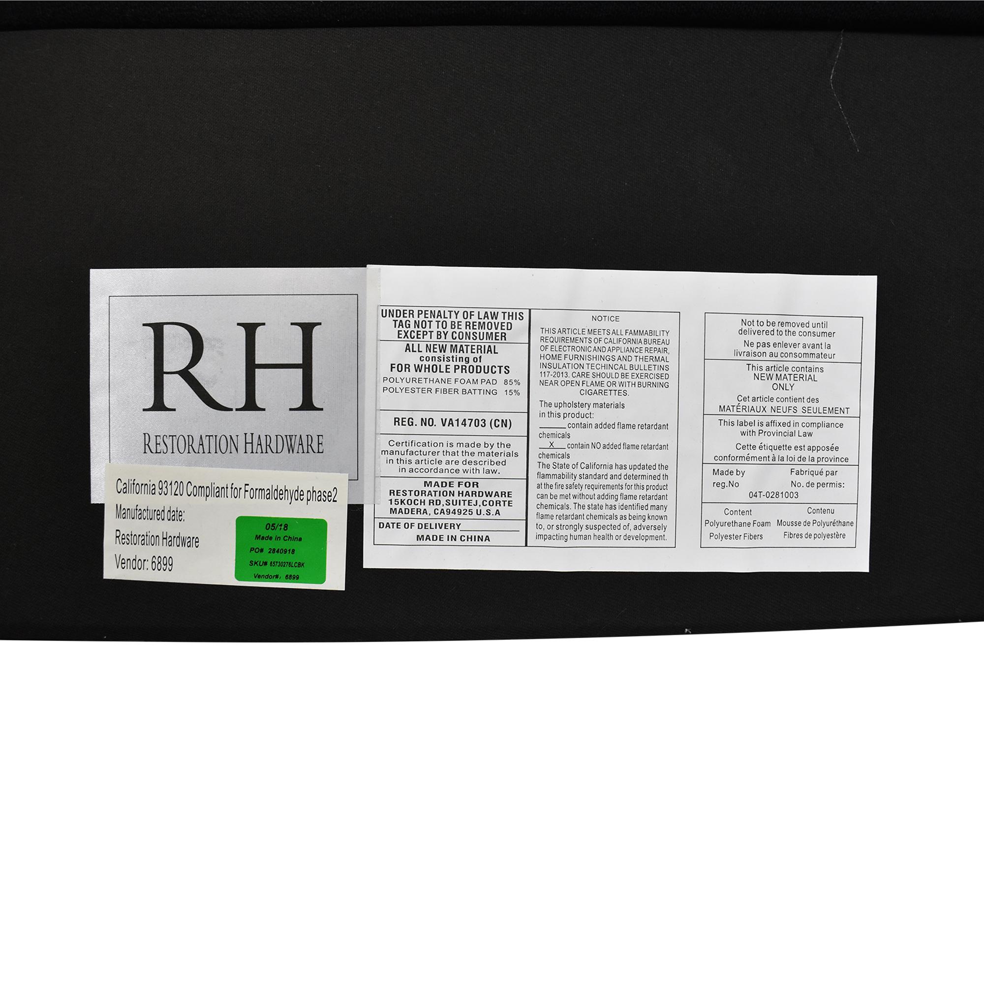 shop Restoration Hardware Modena King Bed Restoration Hardware Bed Frames