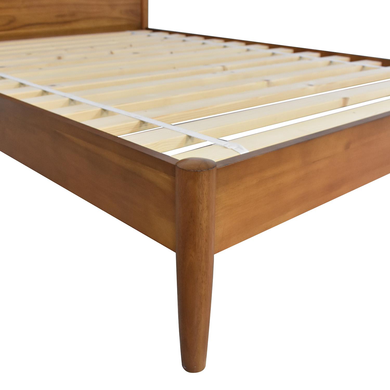 buy West Elm Mid-Century Full Bed Acorn West Elm