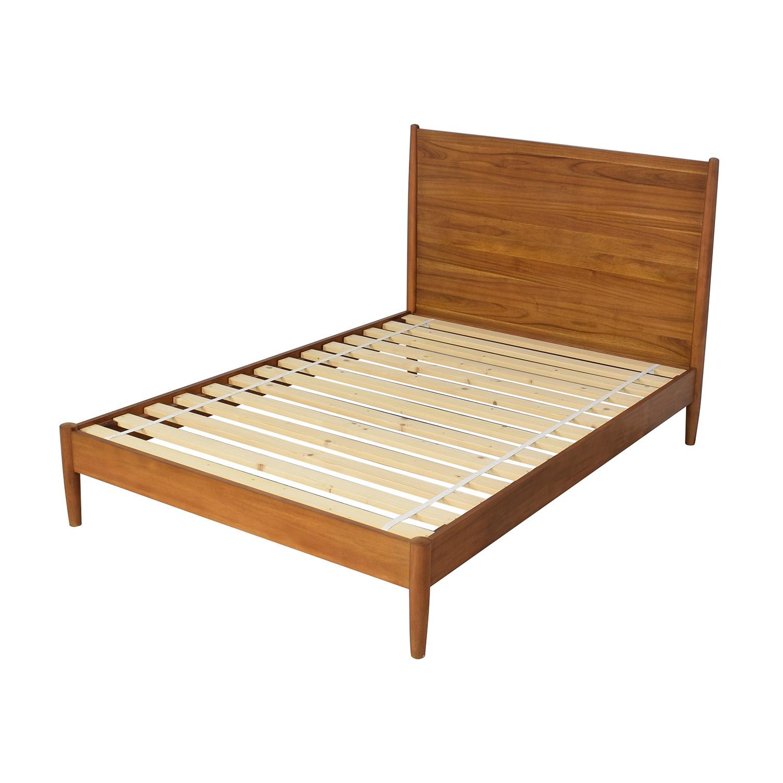 shop West Elm West Elm Mid-Century Full Bed Acorn online